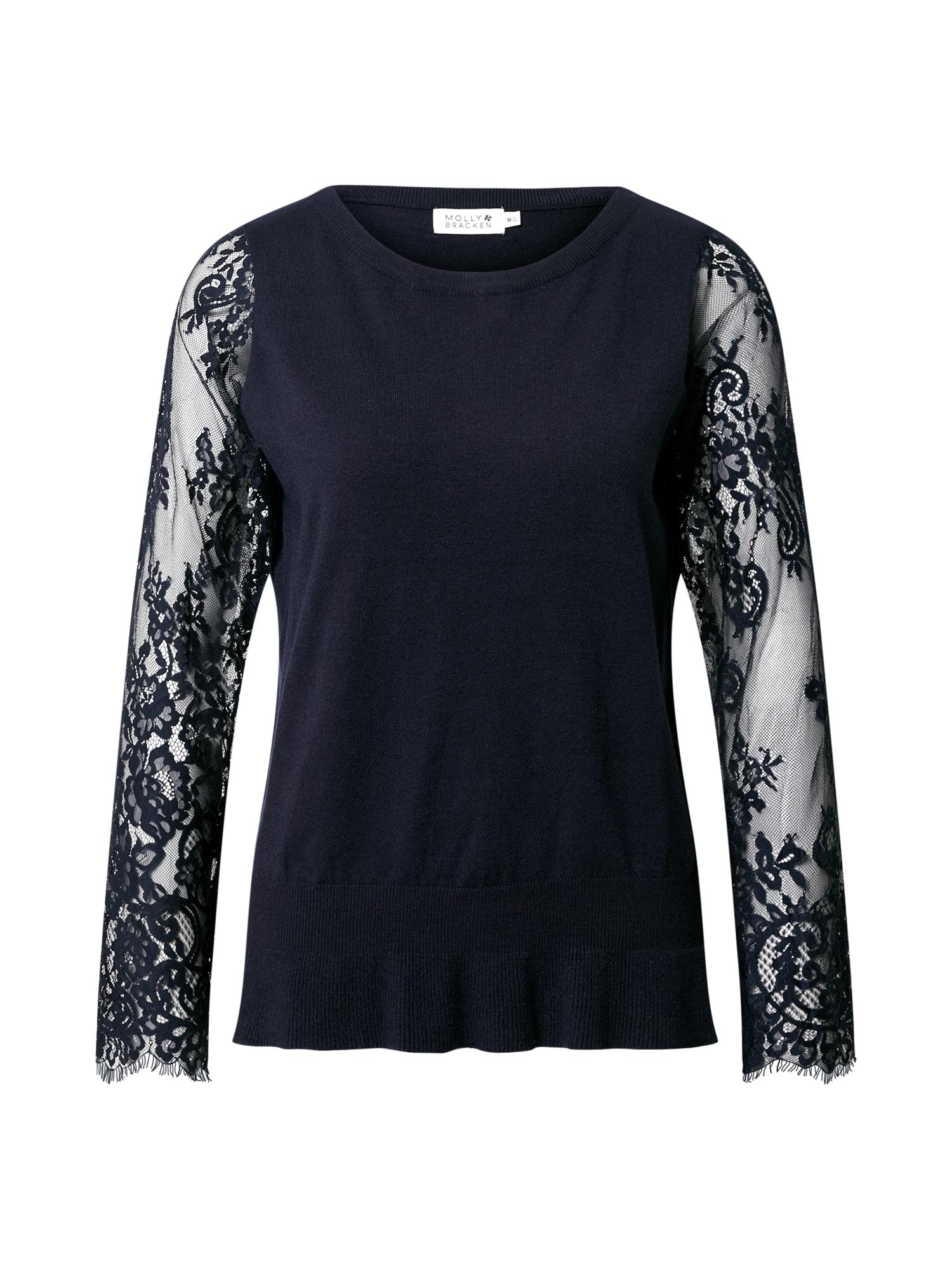 Molly BRACKEN Megztinis tamsiai mėlyna