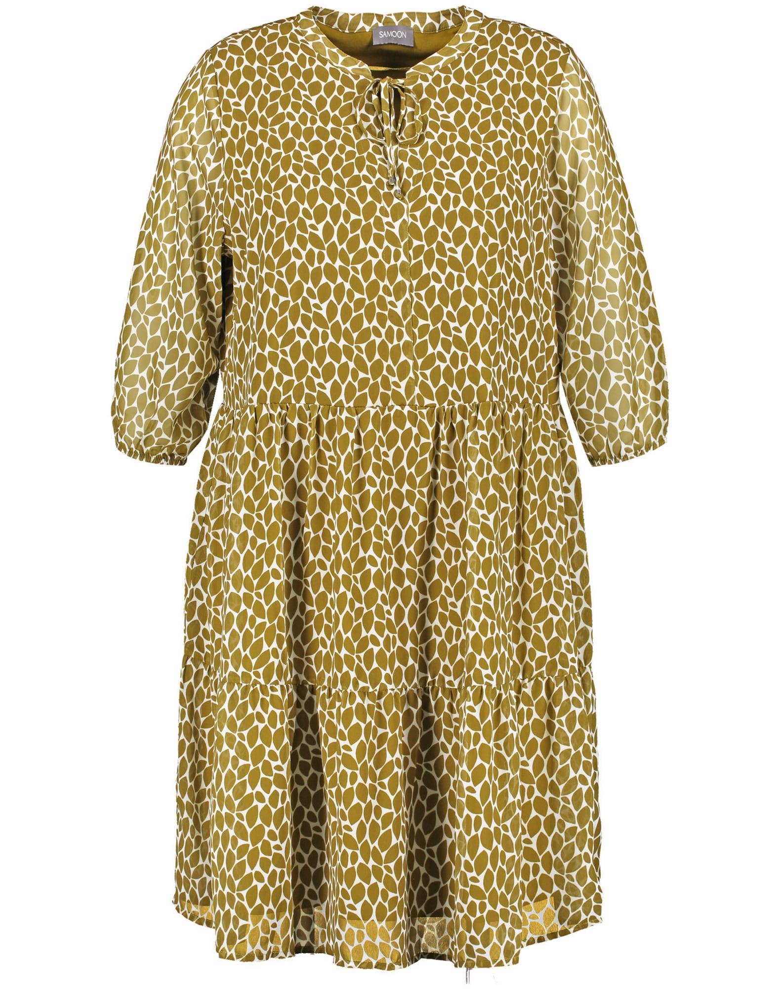 SAMOON Suknelė šviesiai žalia