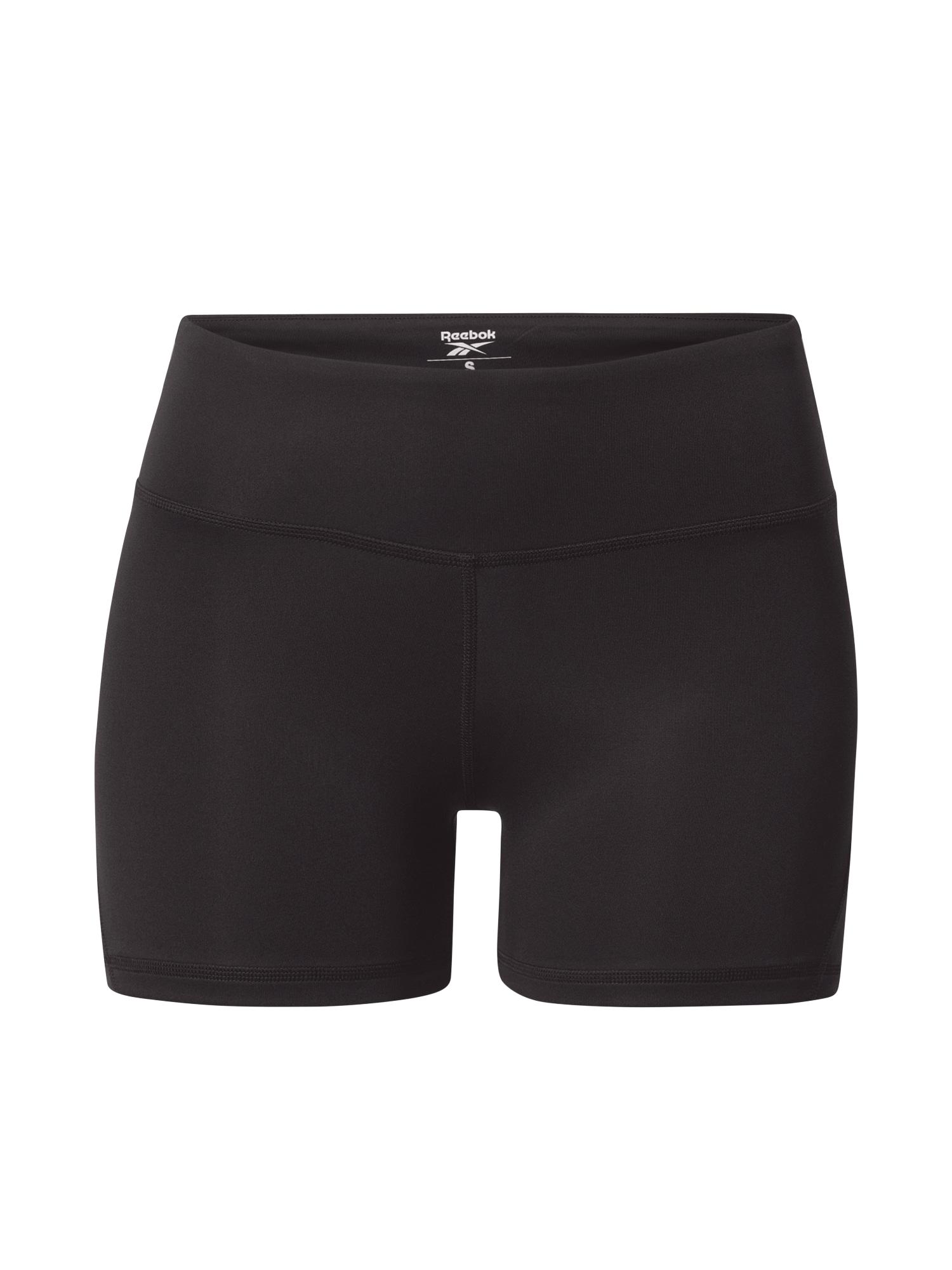 REEBOK Sportovní kalhoty 'Workout Ready Hot'  černá