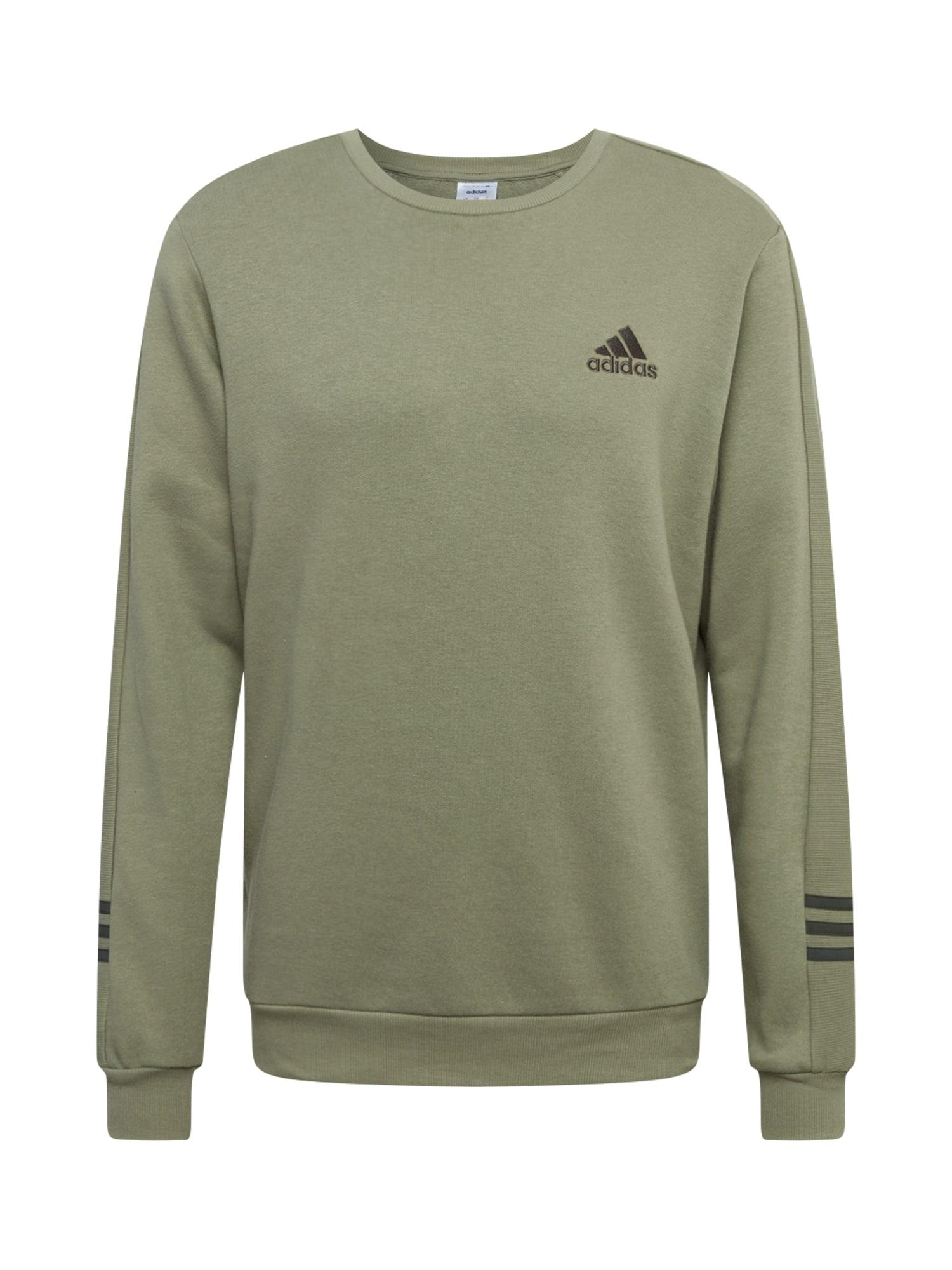 ADIDAS PERFORMANCE Sportinio tipo megztinis alyvuogių spalva