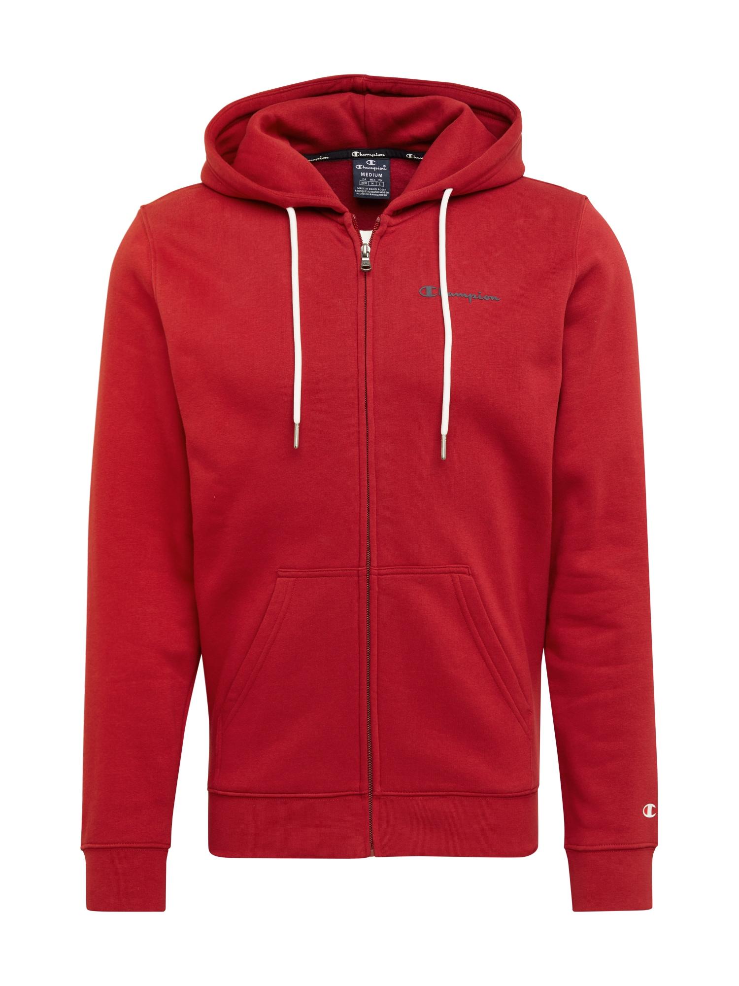 Champion Authentic Athletic Apparel Mikina s kapucí  červená
