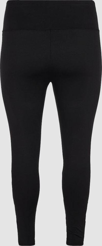 Trainingstights von Active by Zizzi.  Diese eng anliegende Trainingstights besteht aus einem elastischen Stoff, der für eine tolle Passform mit viel Bewegungsfreiheit sorgt. Sie hat einen breiten Gummizug im Bund und Meshdetails an den Beinen, die sowohl dekorativ sind als auch atmungsaktiv.