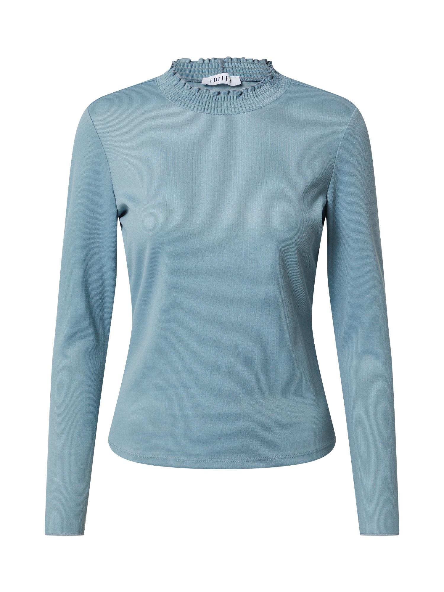 EDITED Tričko 'Carianna'  kouřově modrá