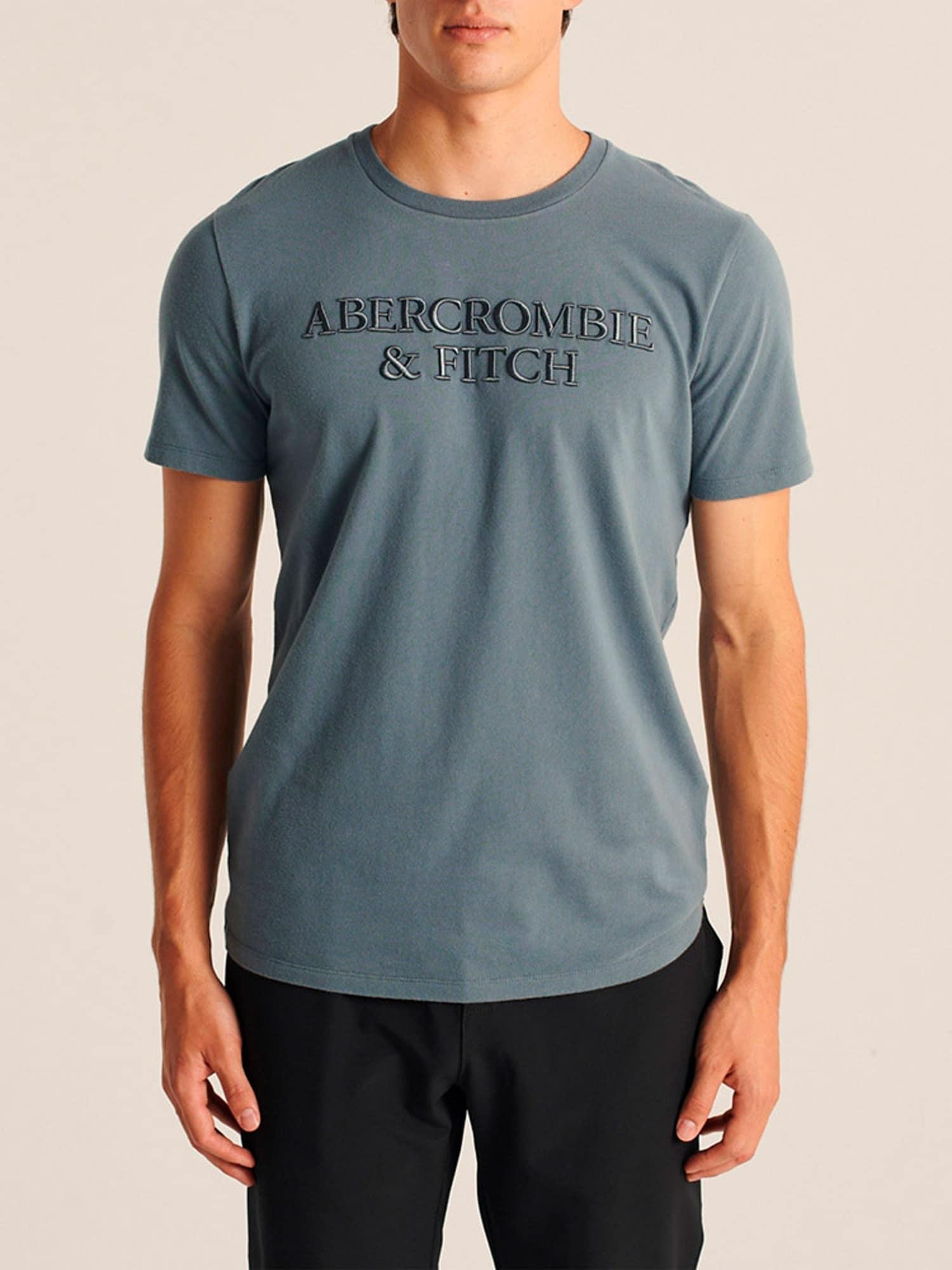 Abercrombie & Fitch T-shirt  rökblå