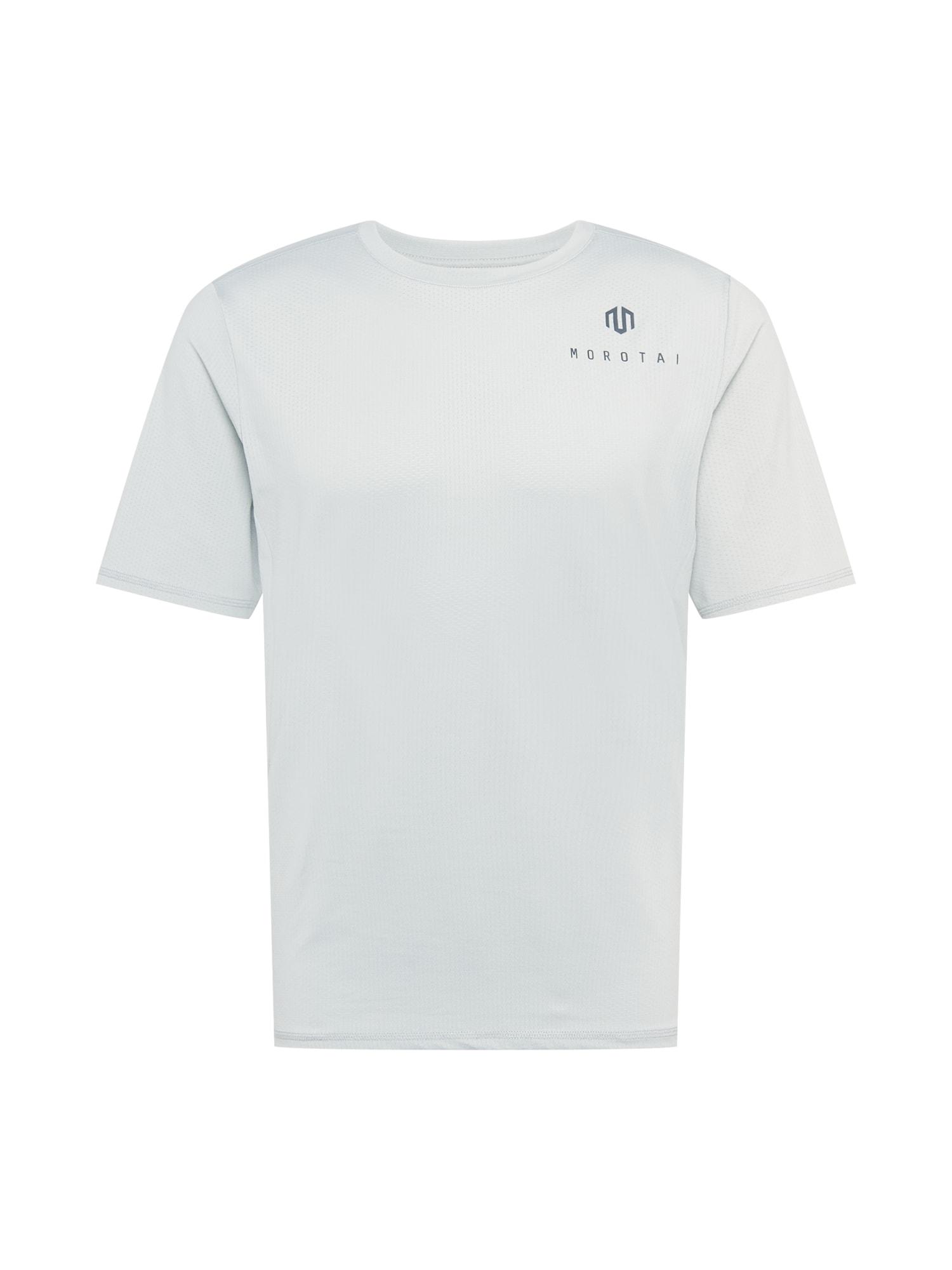 MOROTAI Sportiniai marškinėliai šviesiai pilka / tamsiai pilka