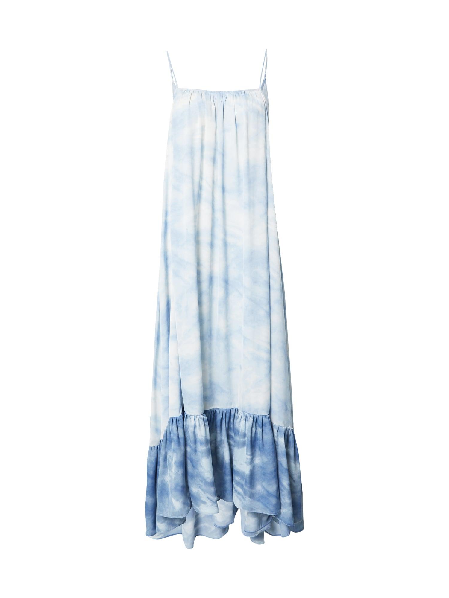 Free People Paplūdimio suknelė 'FULL ON' šviesiai mėlyna / azuro / tamsiai (džinso) mėlyna