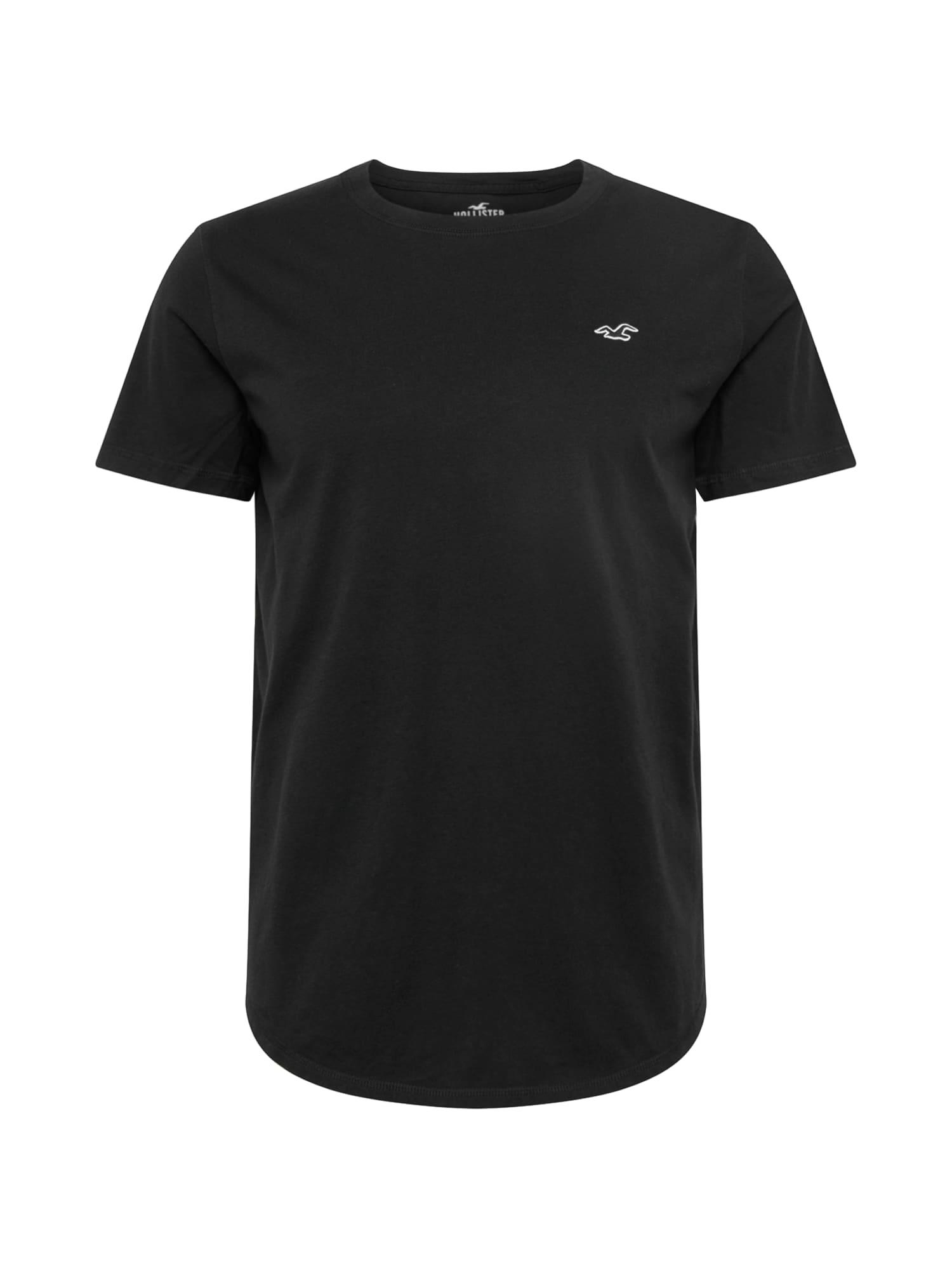 HOLLISTER Marškinėliai juoda