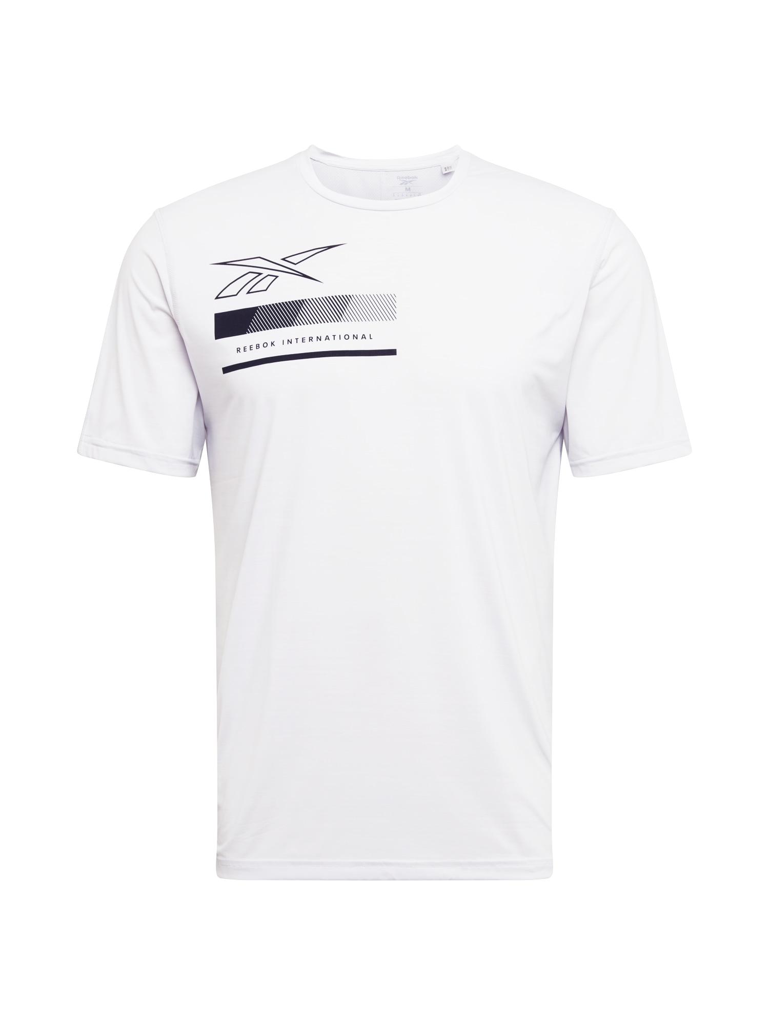 REEBOK Funkční tričko  bílá