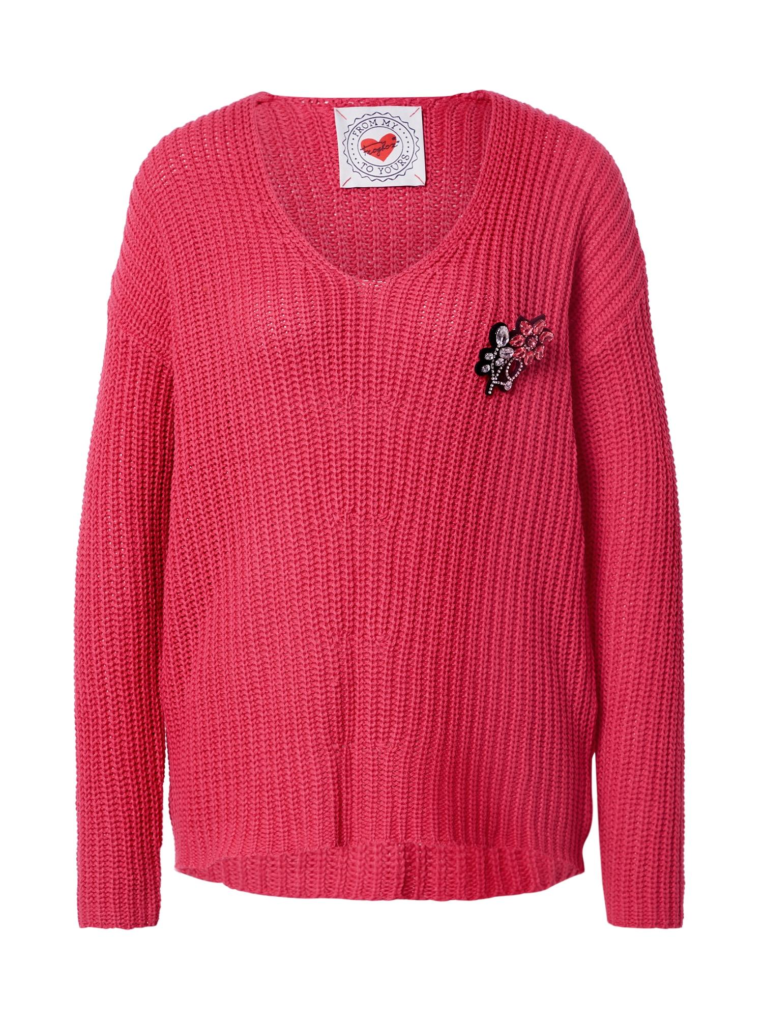 Frogbox Megztinis pitajų spalva