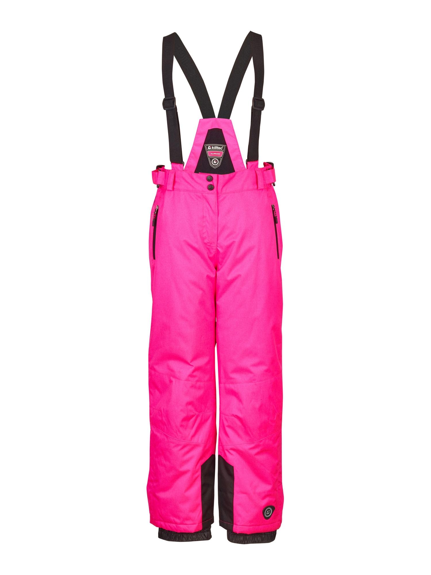 KILLTEC Outdoorové kalhoty 'Nadiana'  svítivě růžová