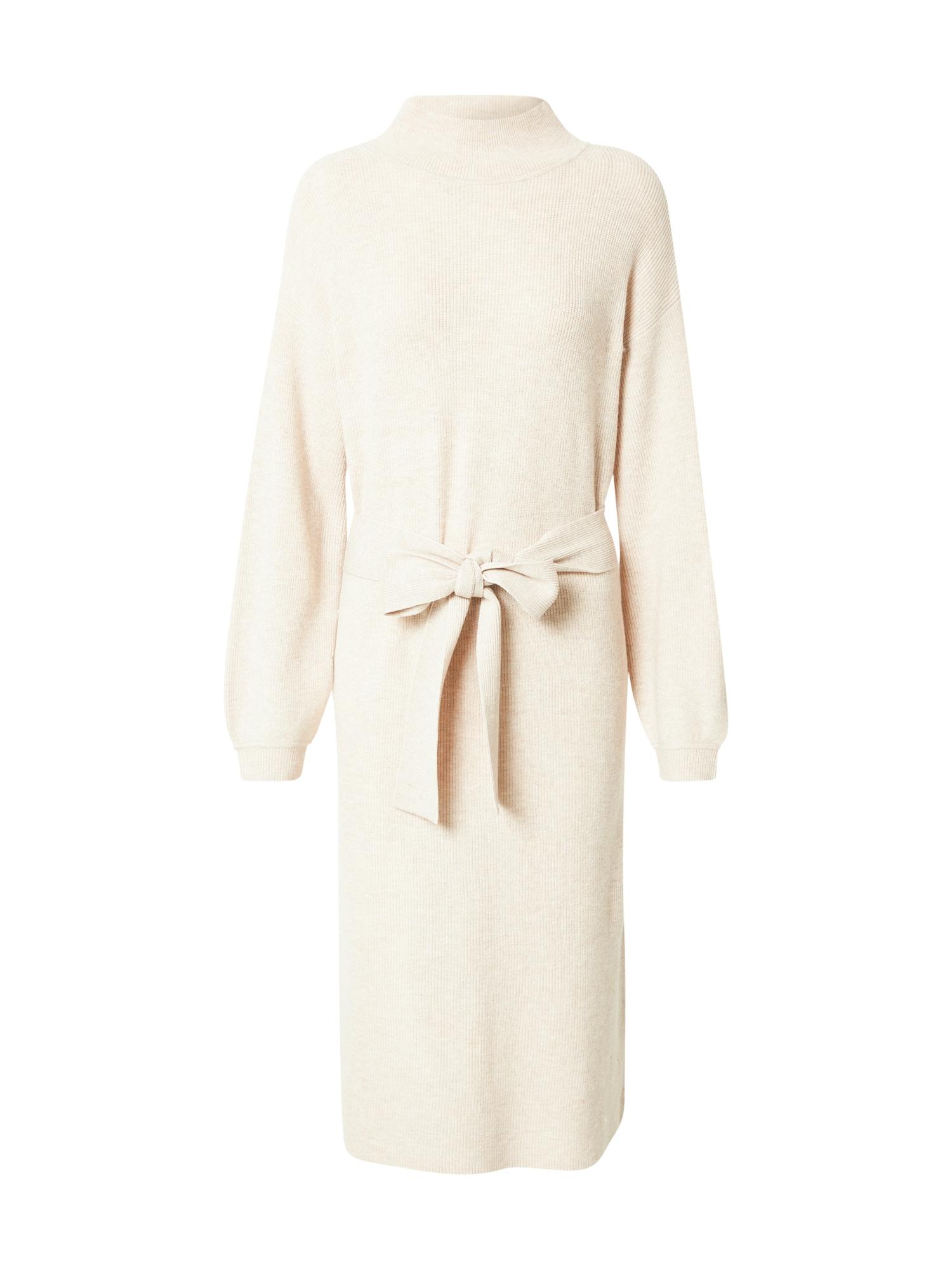 MINE TO FIVE Úpletové šaty  béžová