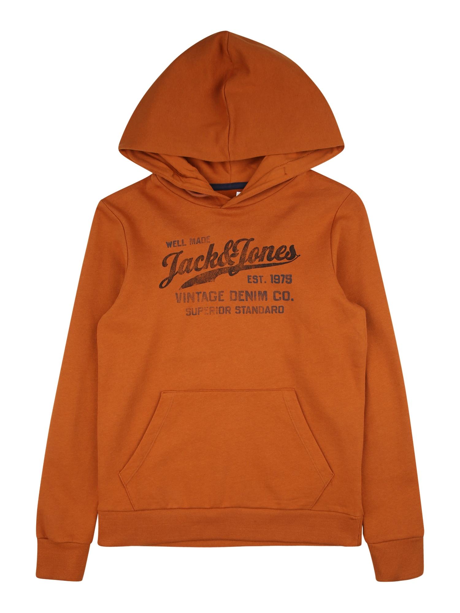 Jack & Jones Junior Megztinis oranžinė