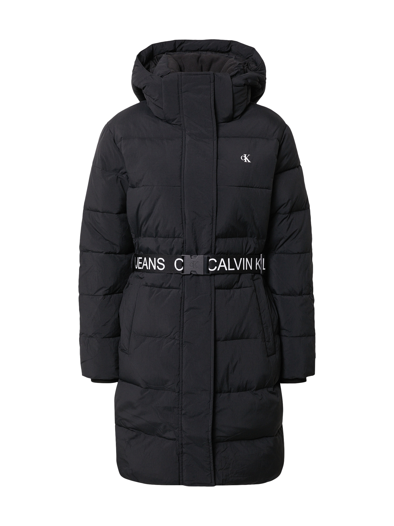 Calvin Klein Jeans Žieminis paltas juoda