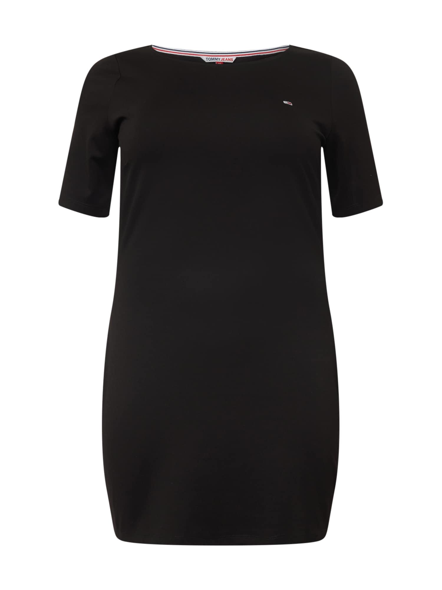 Tommy Jeans Curve Suknelė juoda