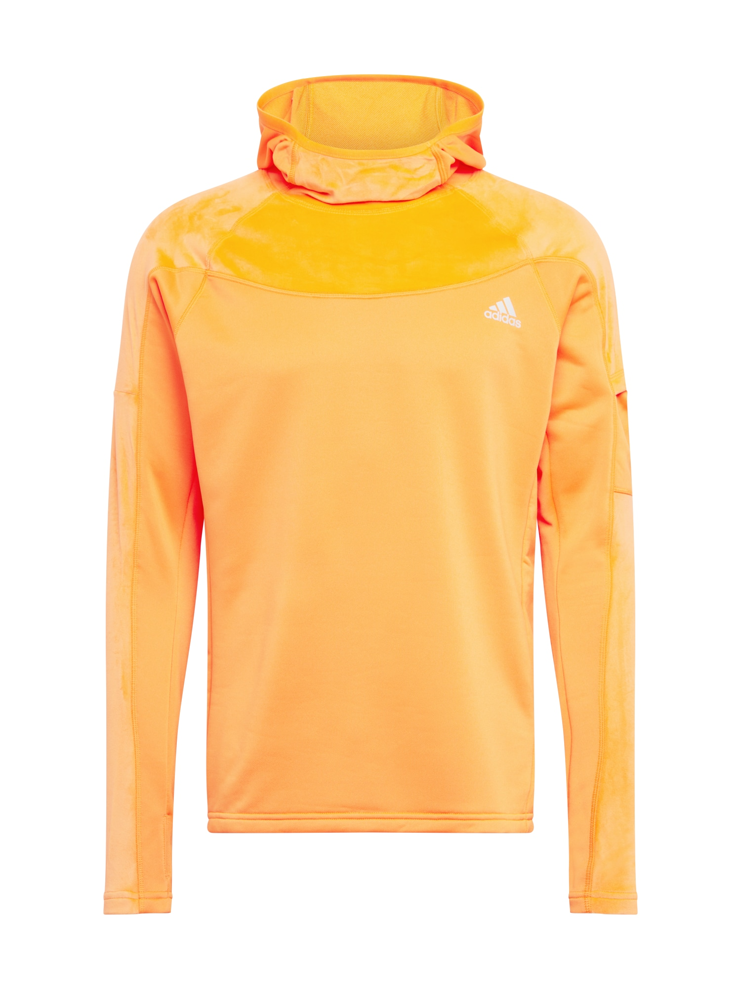 ADIDAS PERFORMANCE Sportovní mikina 'Own the Run Warm'  oranžová