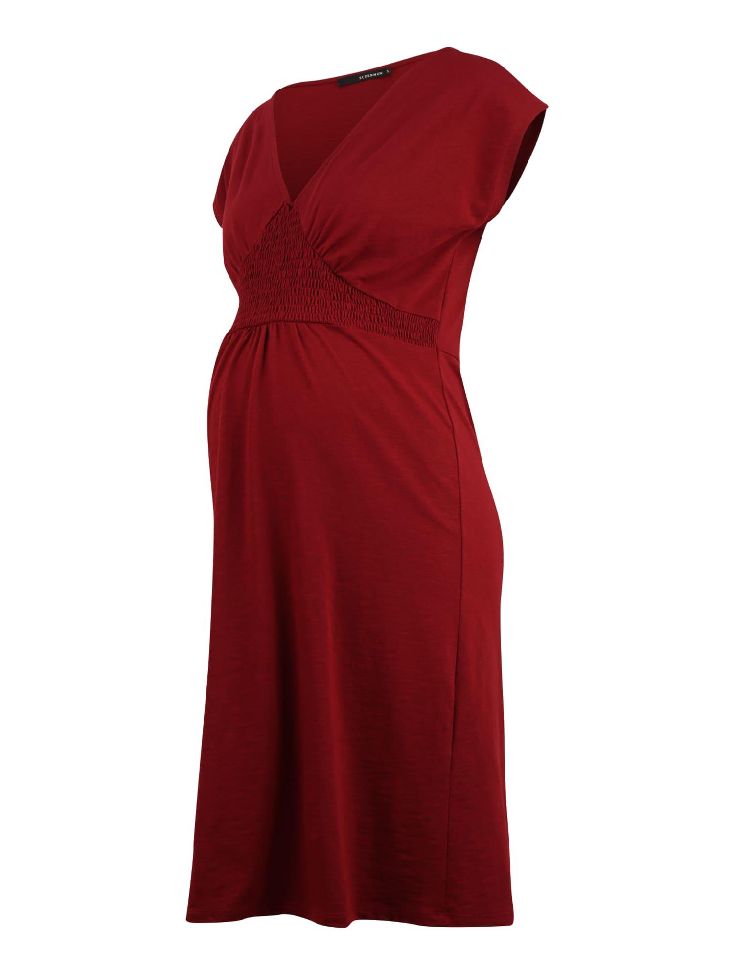 Supermom Suknelė raudona