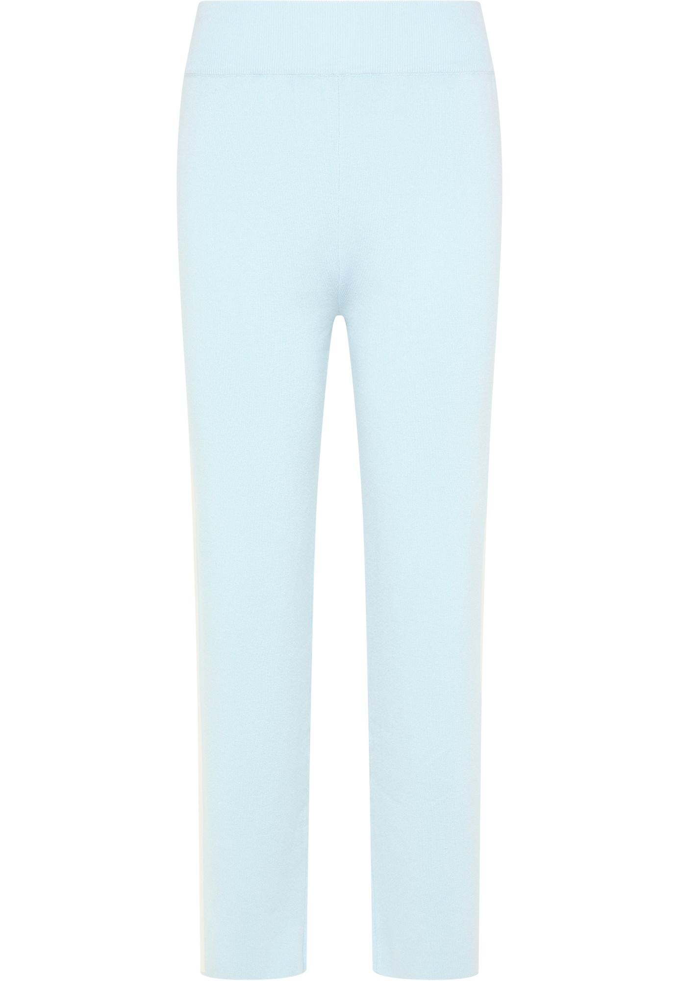usha BLUE LABEL Kelnės šviesiai mėlyna / balta