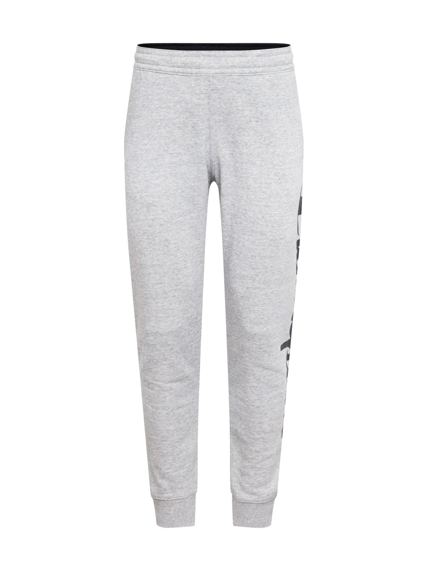 Champion Authentic Athletic Apparel Kalhoty  černá / světle šedá