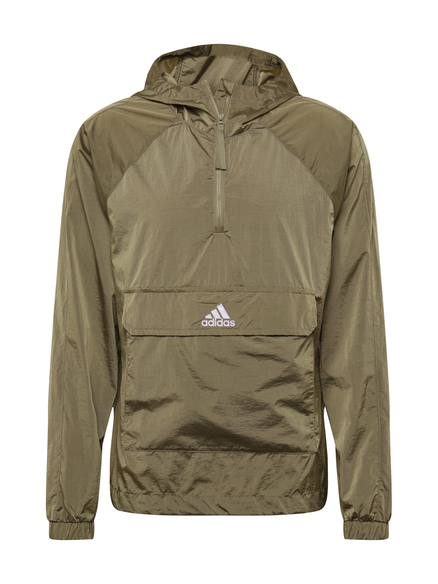 ADIDAS PERFORMANCE Sportovní bunda  khaki / bílá