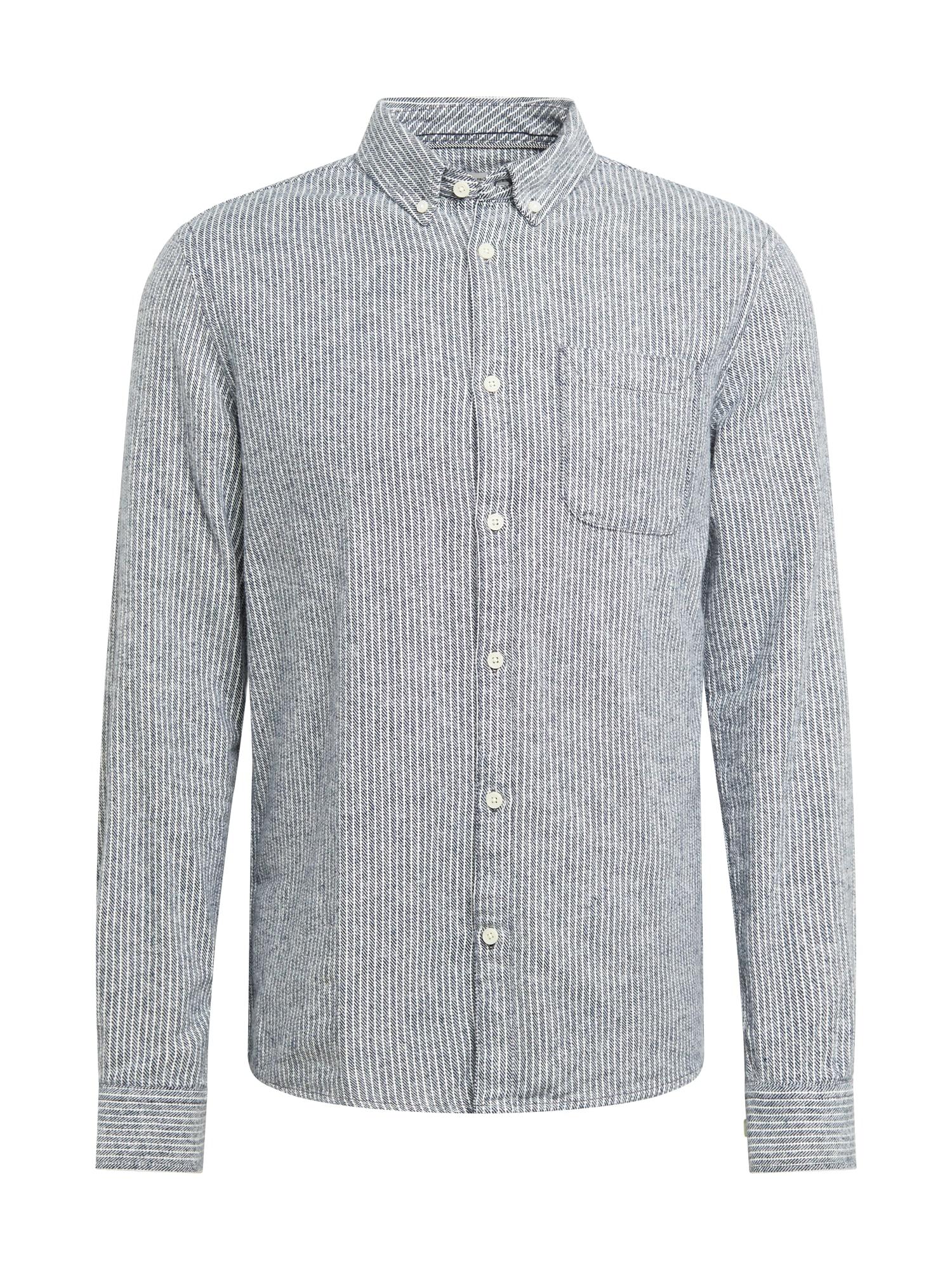 !Solid Košile  modrá / bílá