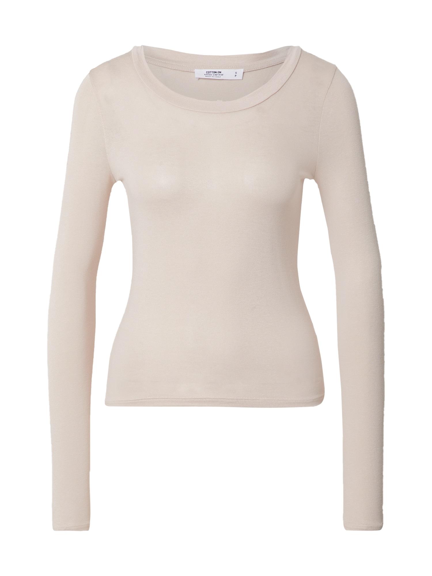 Cotton On Marškinėliai smėlio