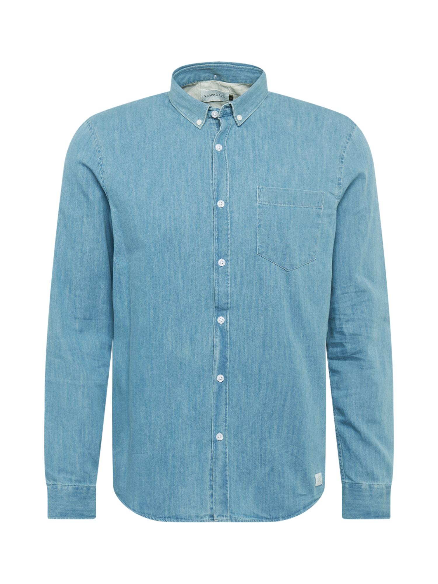 NOWADAYS Marškiniai mėlyna