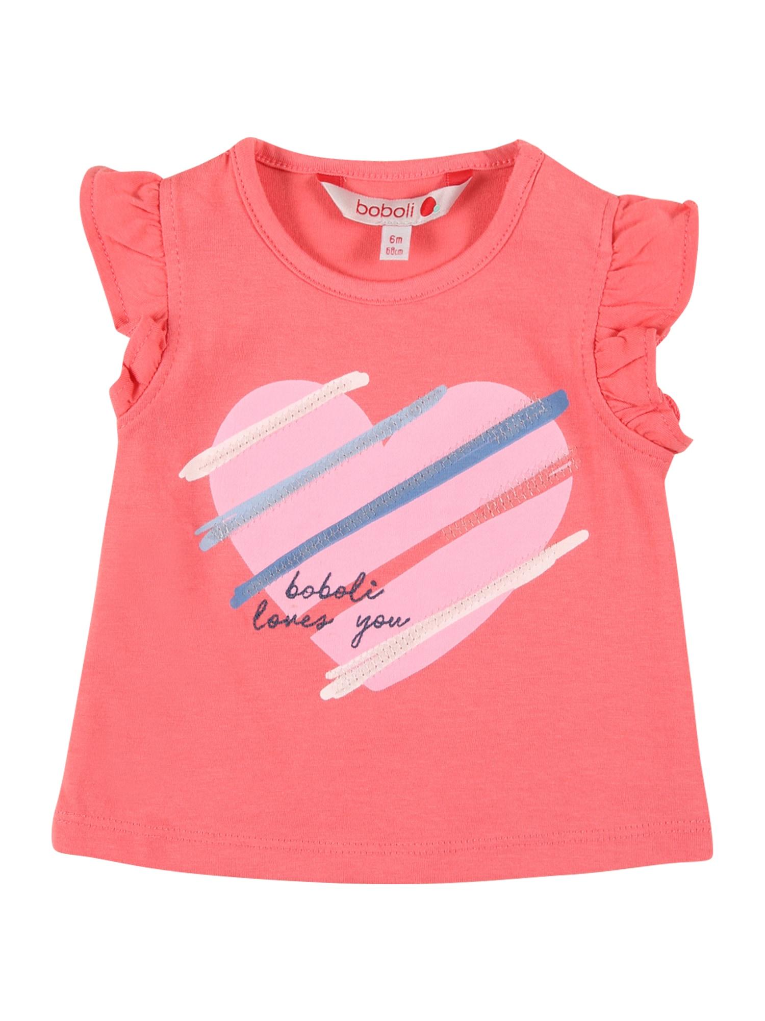 Boboli Marškinėliai melionų spalva / rožių spalva / mėlyna dūmų spalva / tamsiai (džinso) mėlyna / pastelinė geltona
