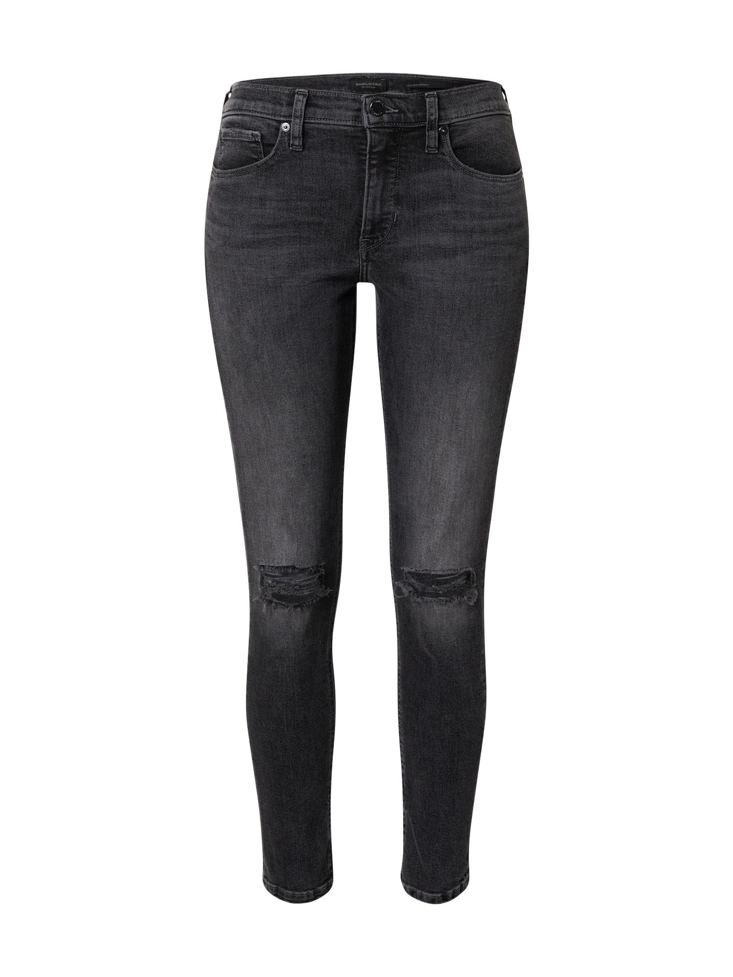 Banana Republic Džinsai juodo džinso spalva
