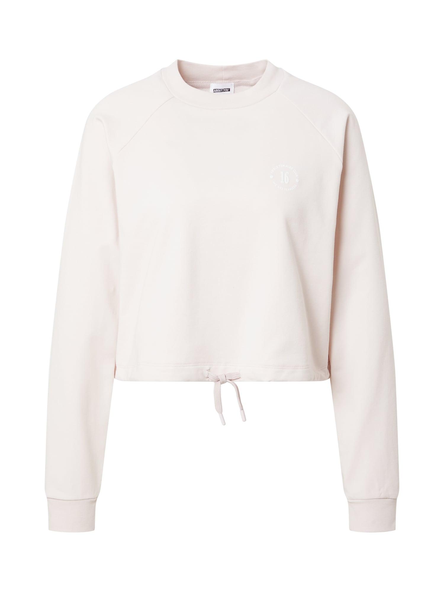 ABOUT YOU x GNTM Megztinis be užsegimo 'Xenia' rožių spalva