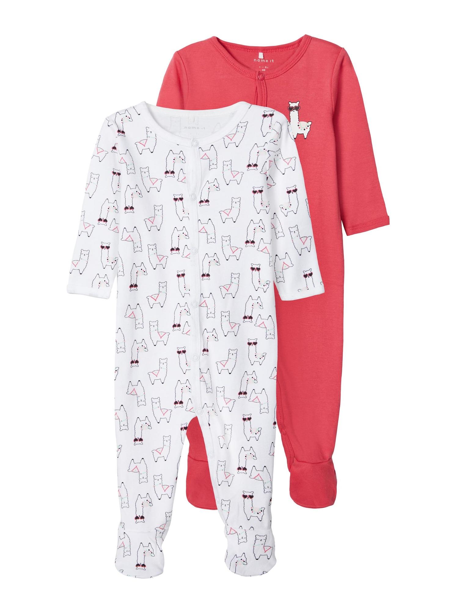 NAME IT Miego kostiumas raudona