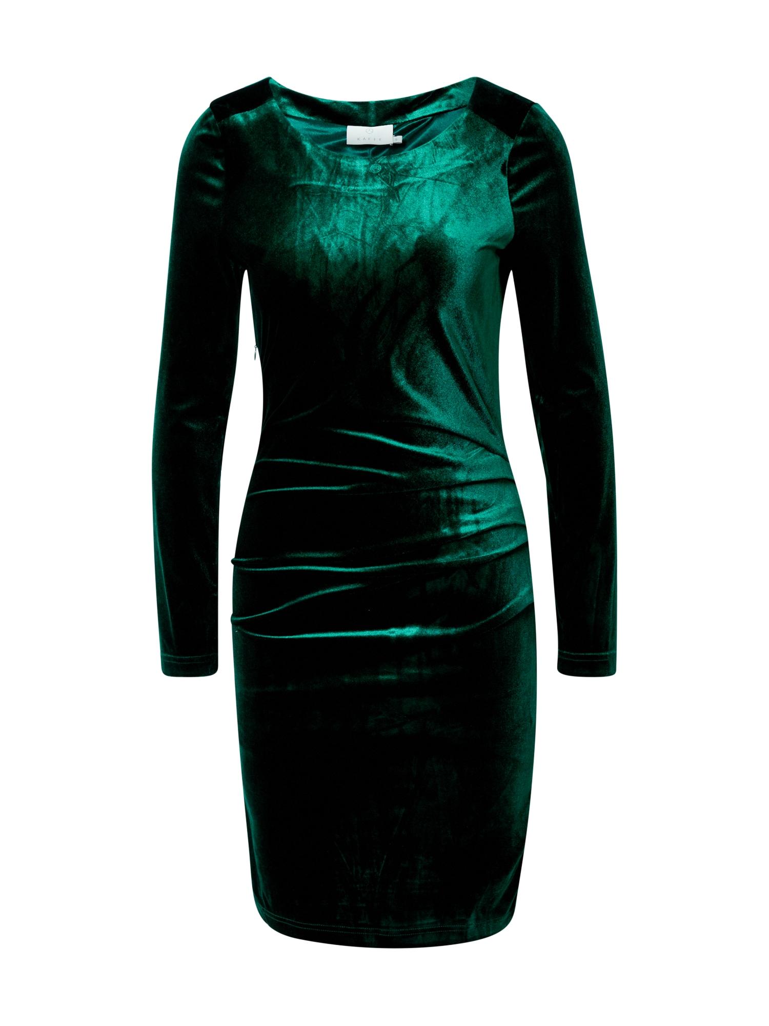 Kaffe Šaty 'Kelly'  tmavě zelená