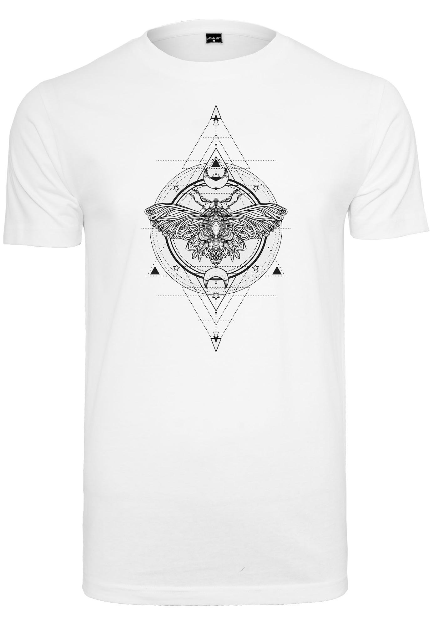 Merchcode Marškinėliai balta / juoda