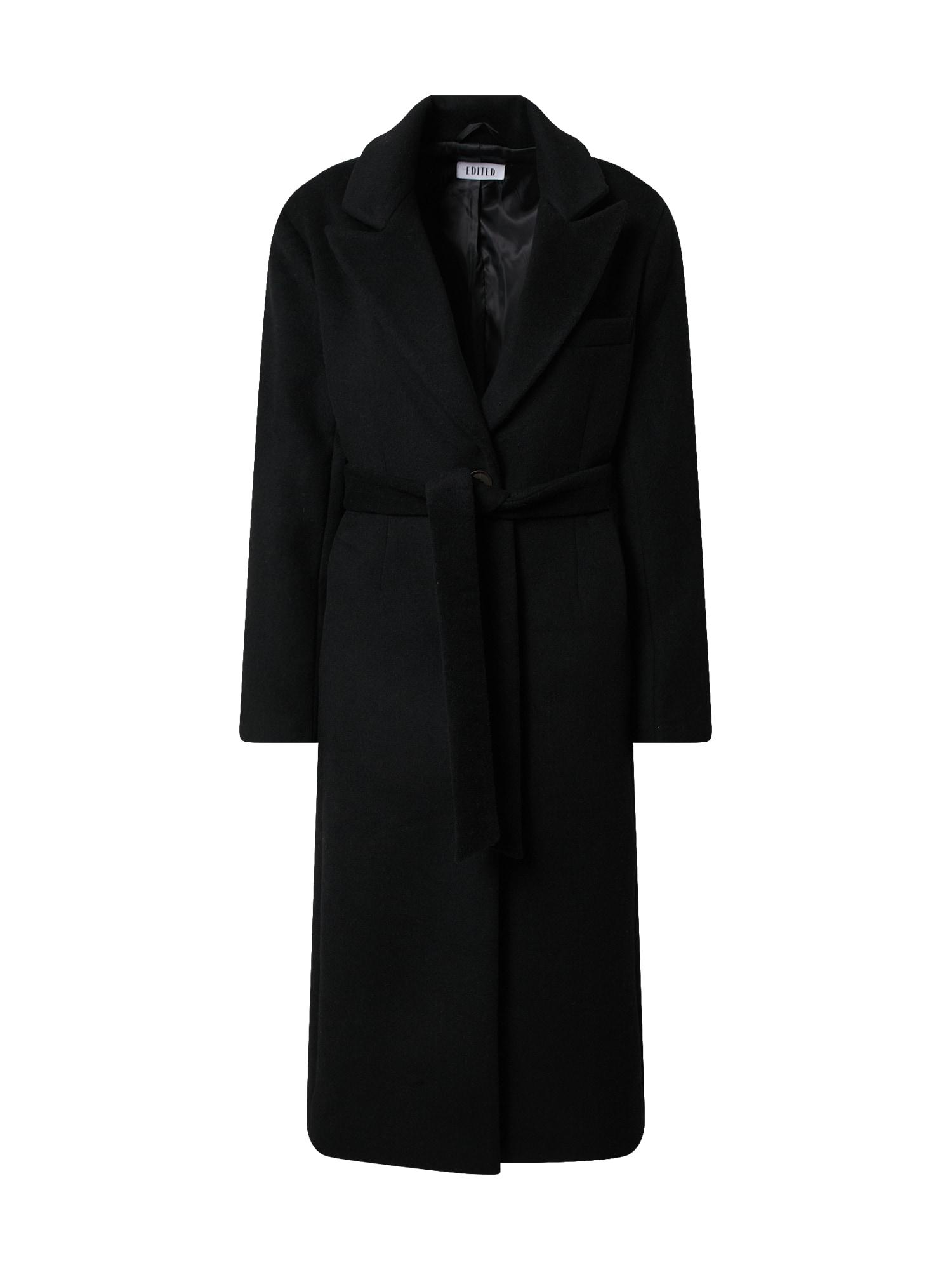 EDITED Demisezoninis paltas 'Roxana' juoda
