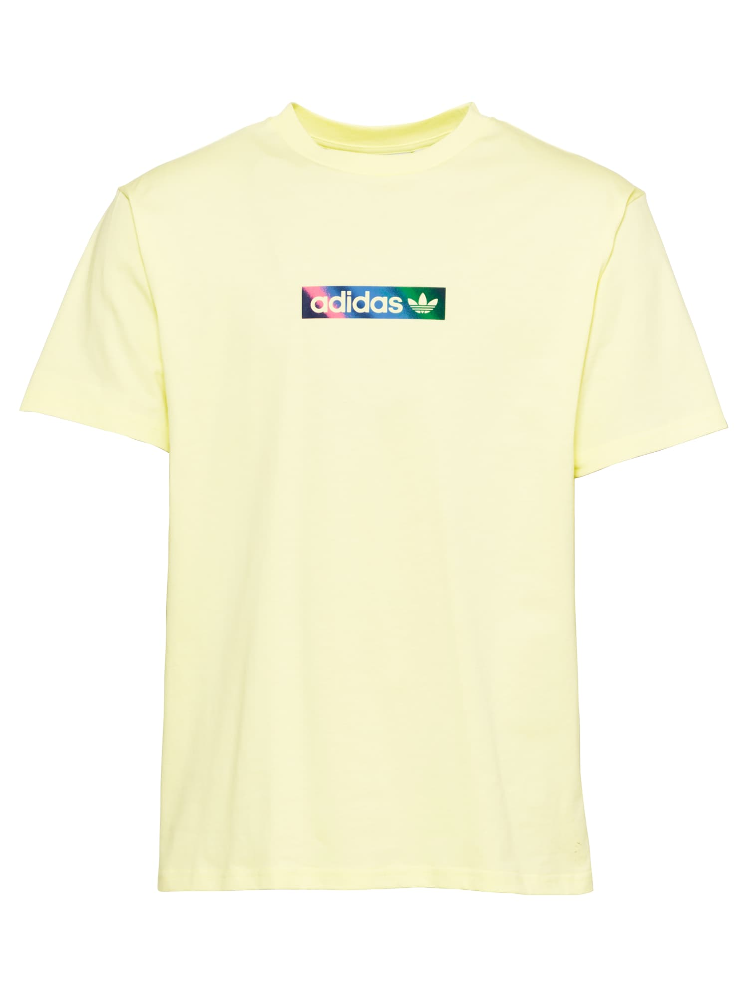 ADIDAS ORIGINALS Tričko 'Summer Box Line'  citrónová žltá / zmiešané farby