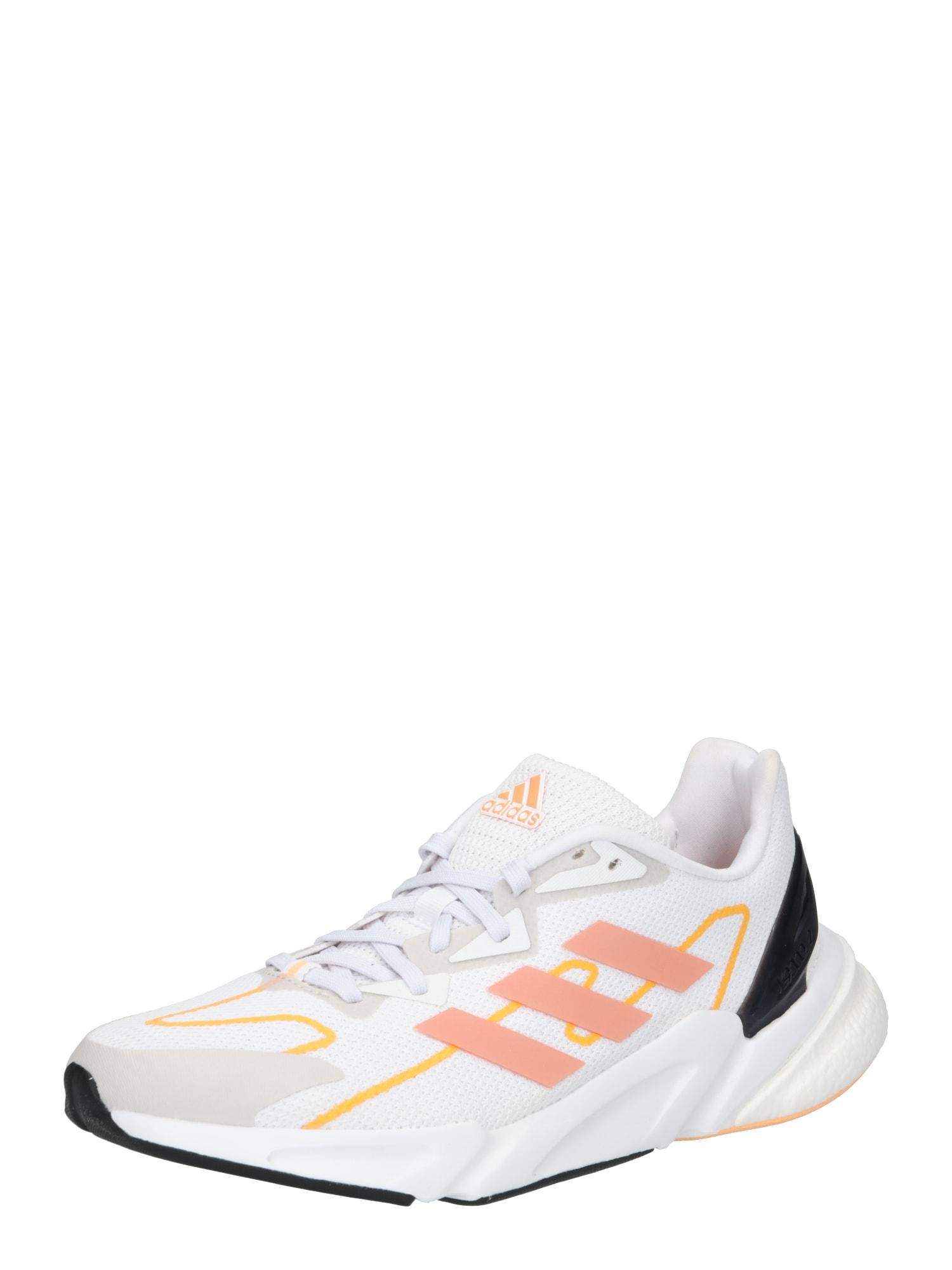 ADIDAS PERFORMANCE Bėgimo batai balta / oranžinė / juoda