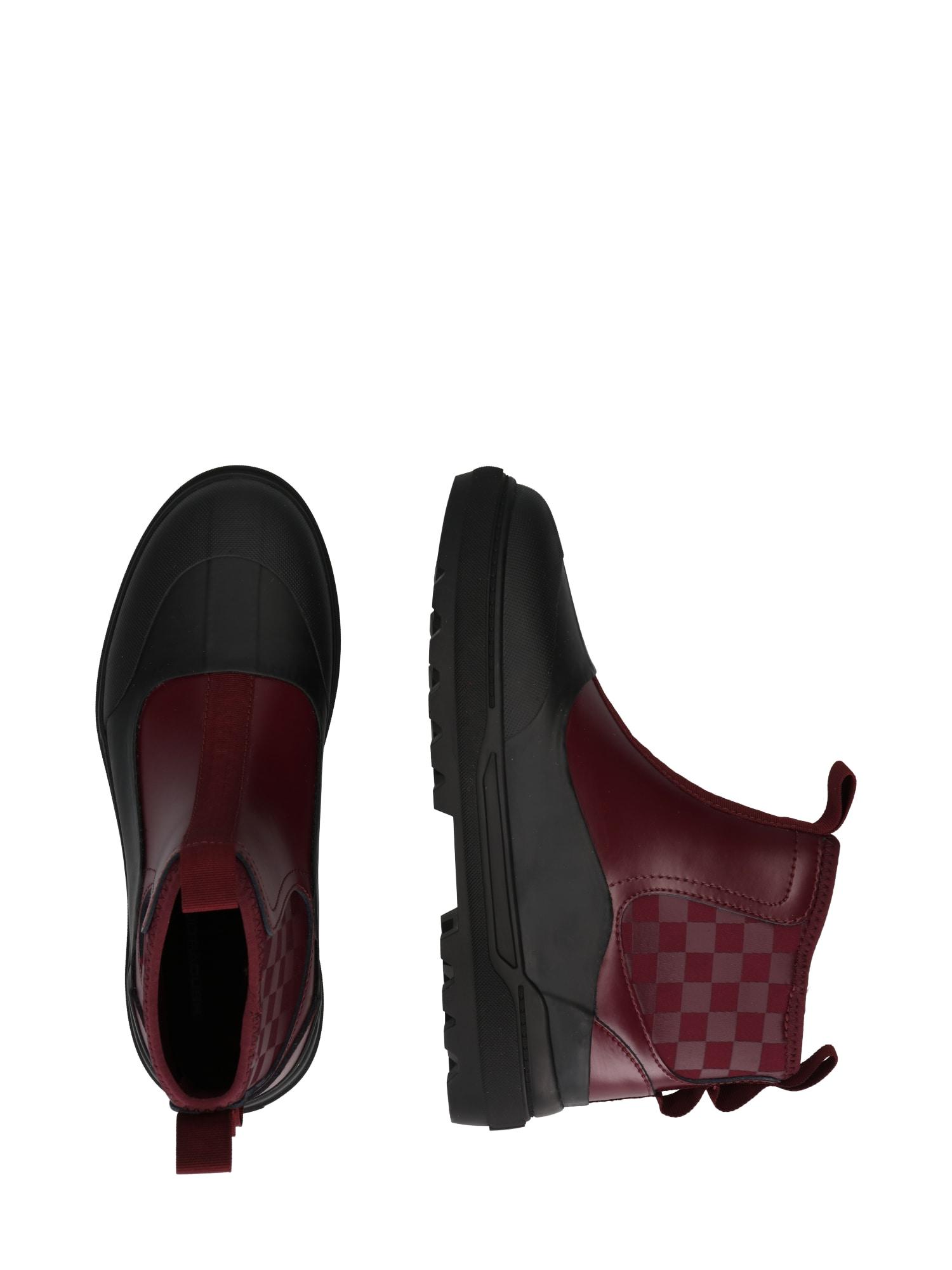 VANS Chelsea Boots 'UA Colfax'  rouge foncé / anthracite