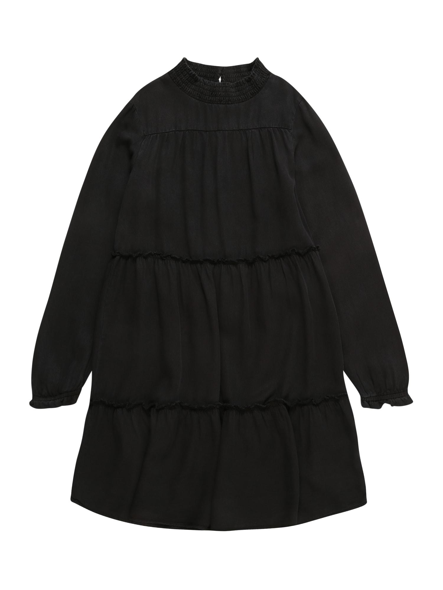 NAME IT Suknelė 'Batily' margai juoda