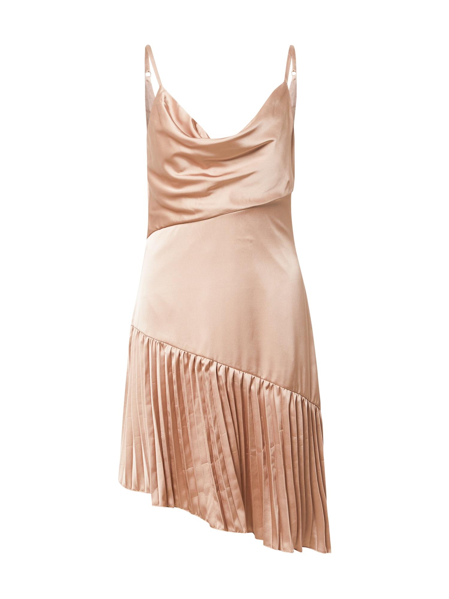 Chi Chi London Kokteilinė suknelė šampano