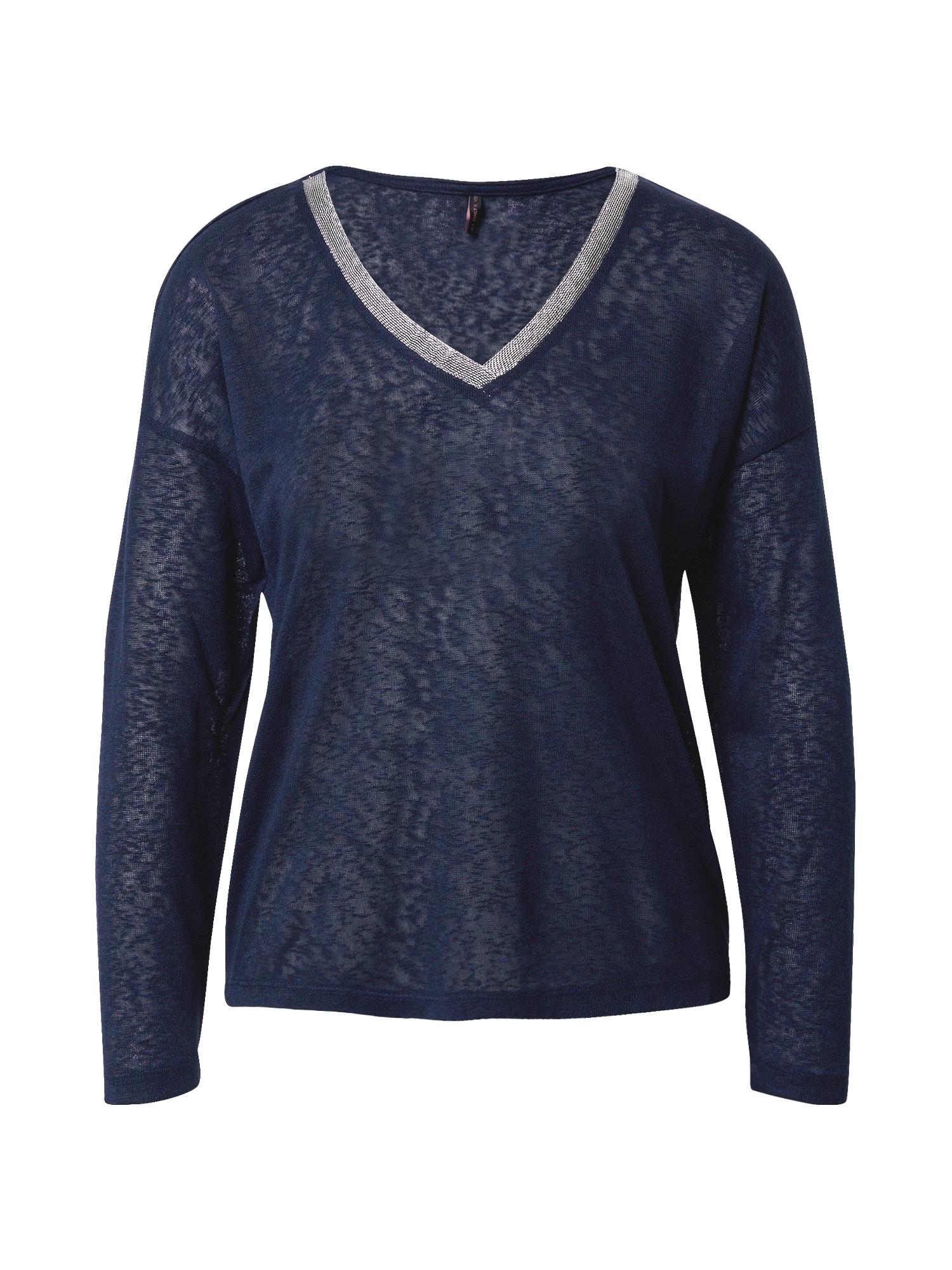 ONLY Tričko 'Rita'  noční modrá / stříbrná