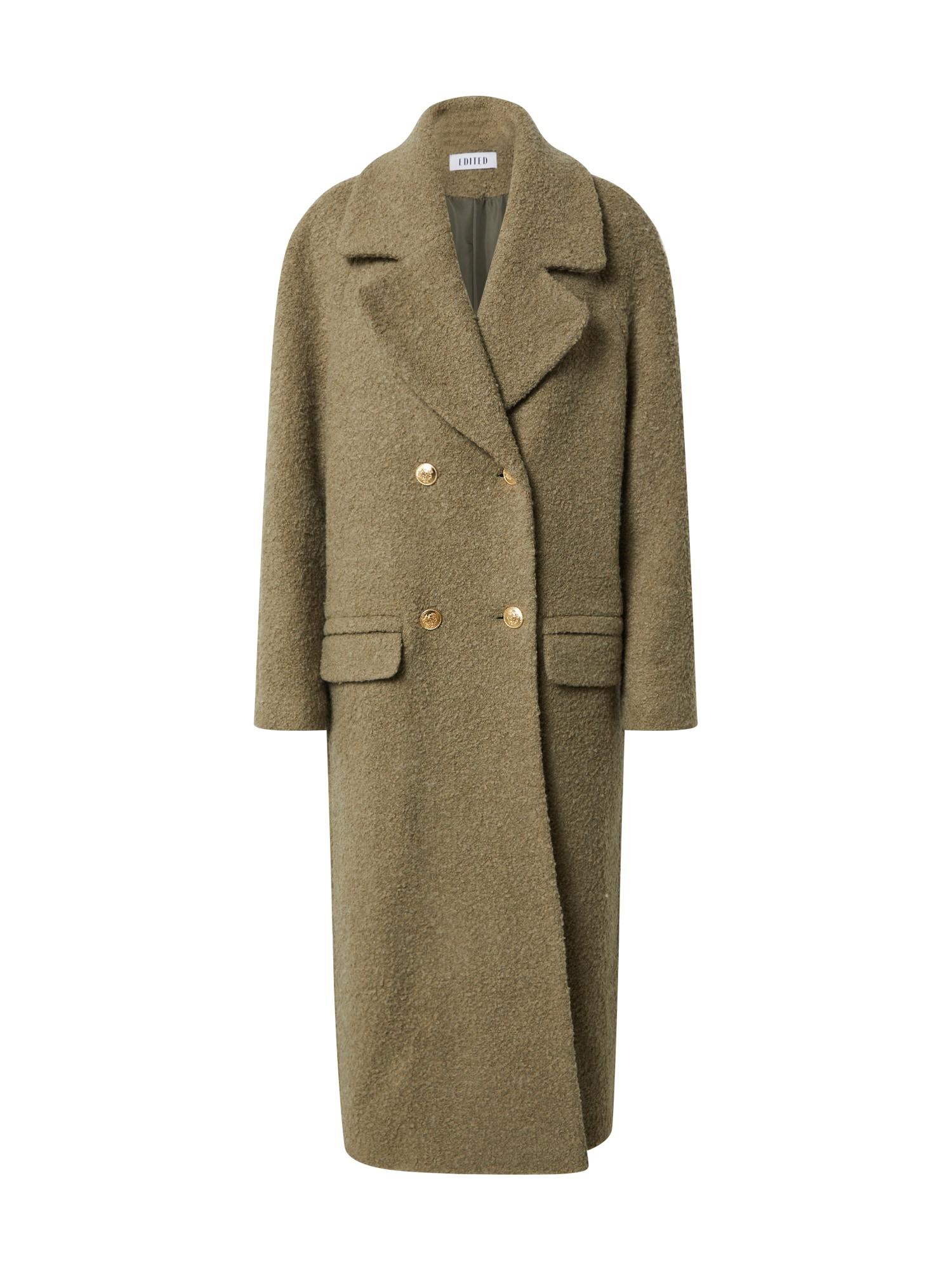 EDITED Přechodný kabát 'Maida'  zelená
