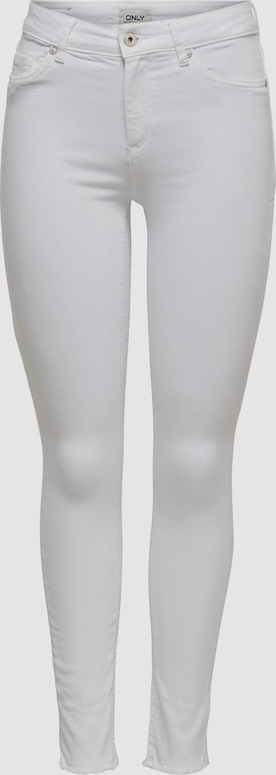 Jeansy 'onlBLUSH MID ANKLE WHITE'