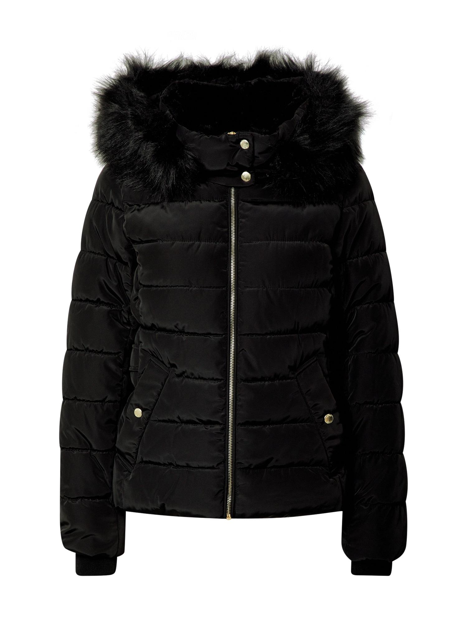 ONLY Zimní bunda 'Camilla'  černá