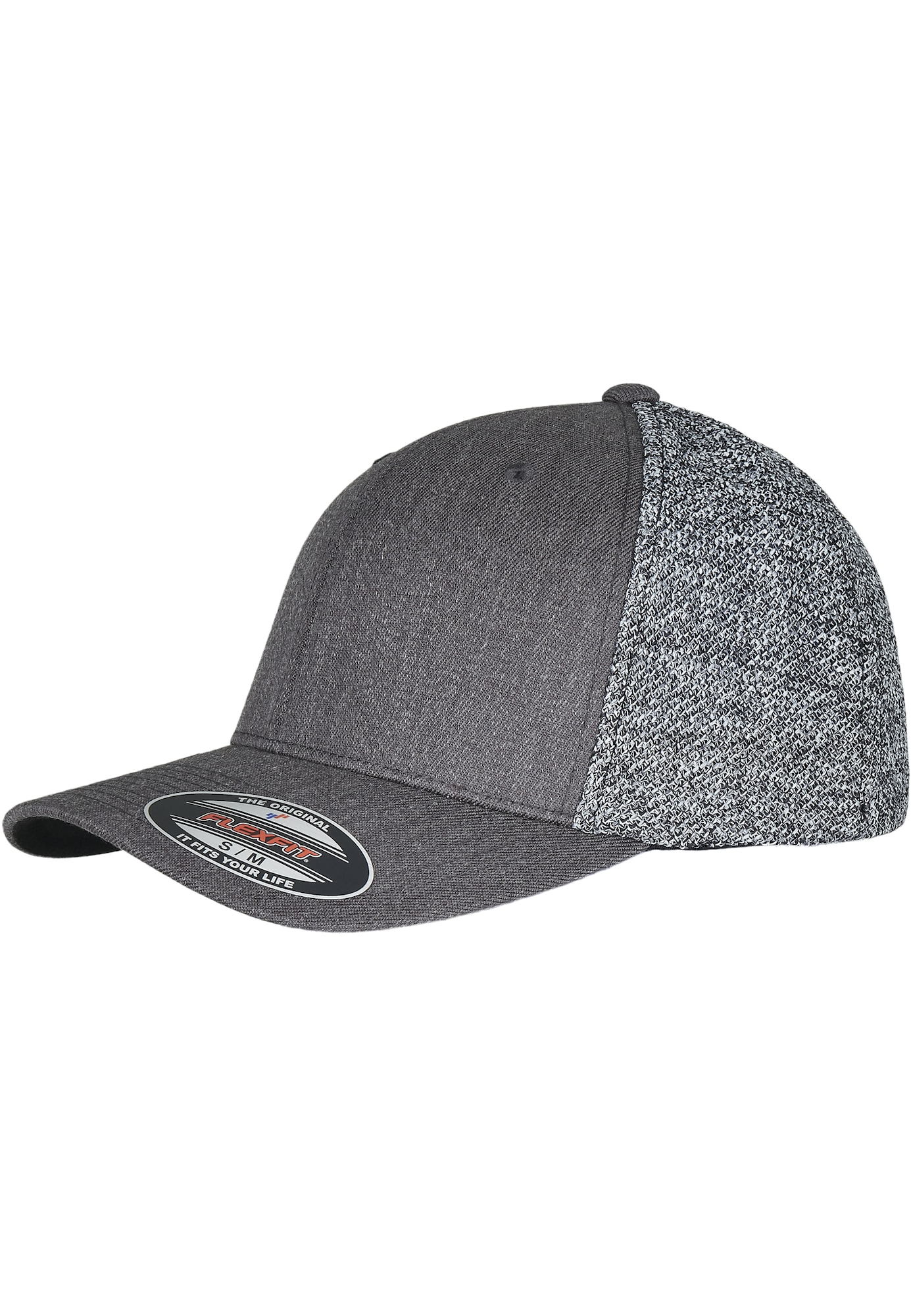 Flexfit Kepurė juoda / margai pilka