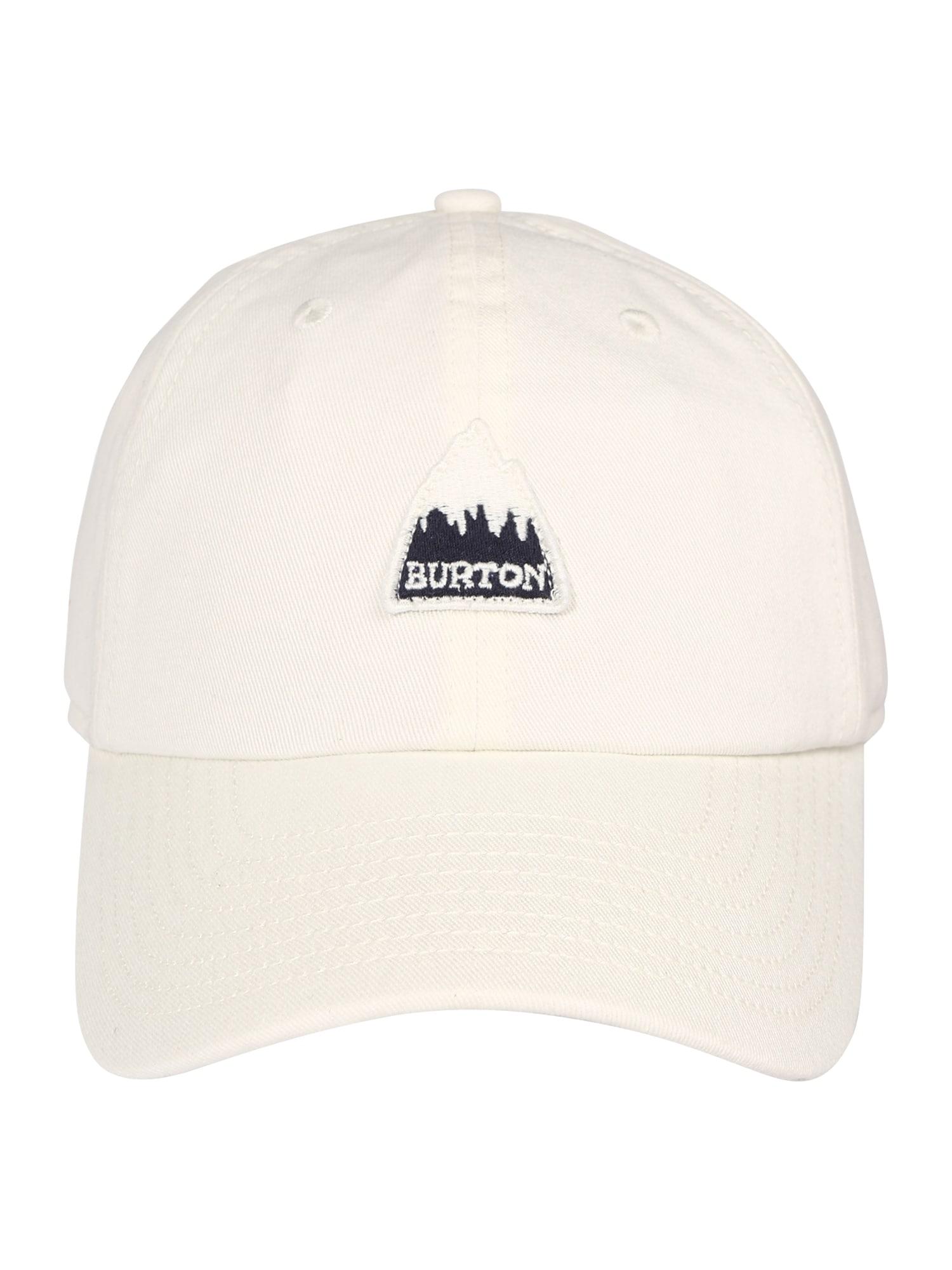 BURTON Sportinė kepurė balta / juoda