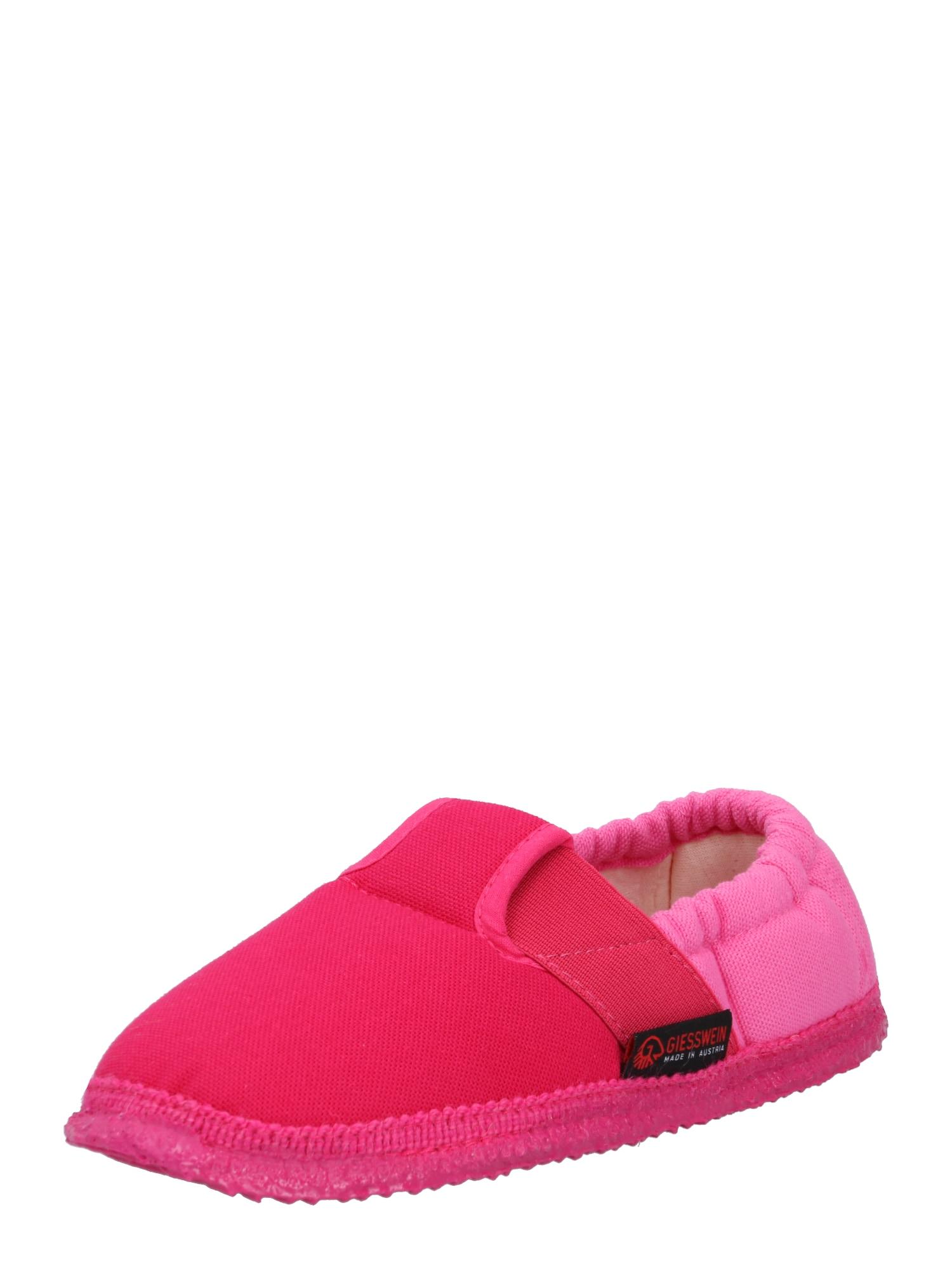 GIESSWEIN Pantofle 'Aichach'  růžová / svítivě růžová