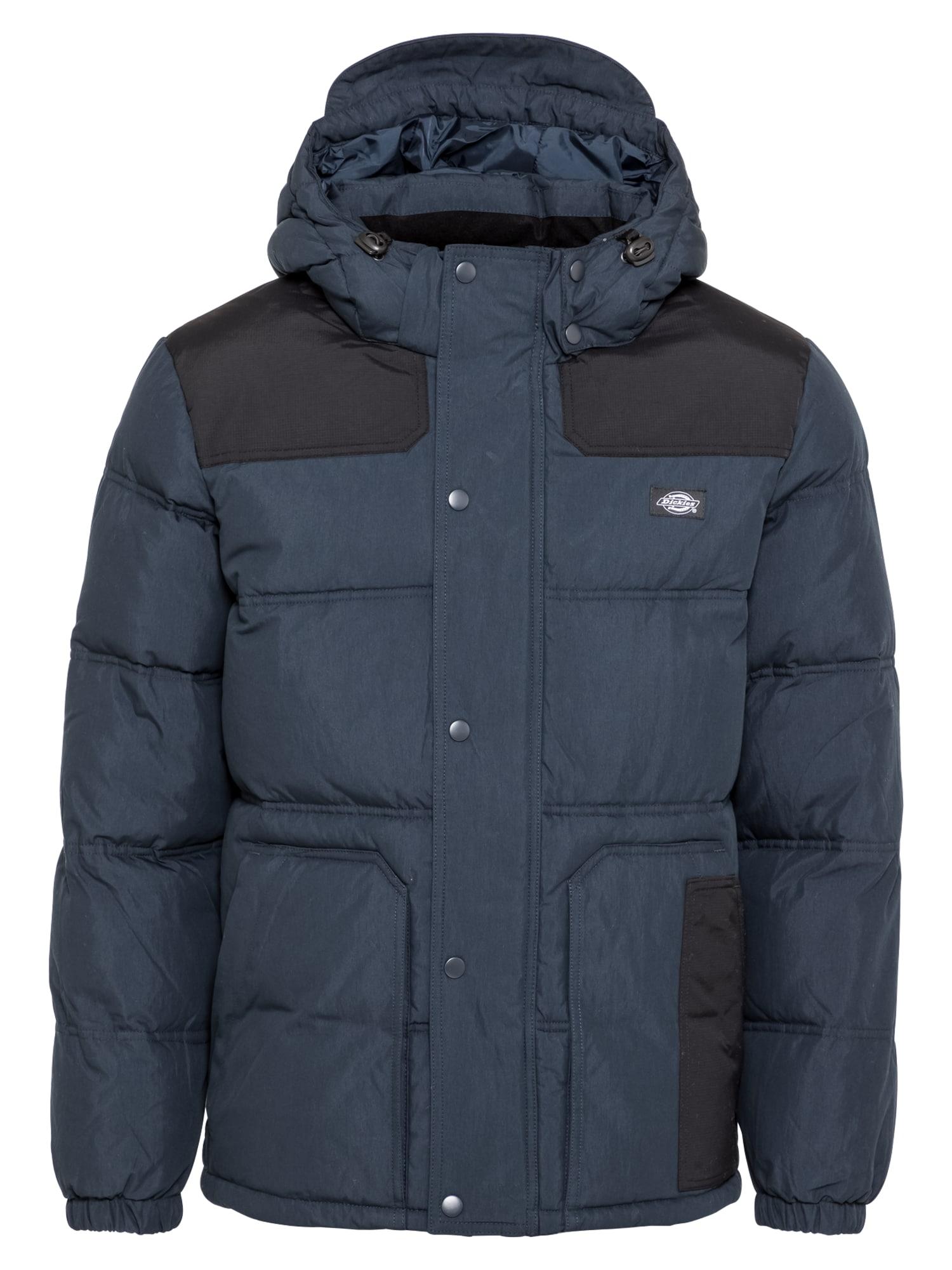 DICKIES Žieminė striukė mėlyna / juoda