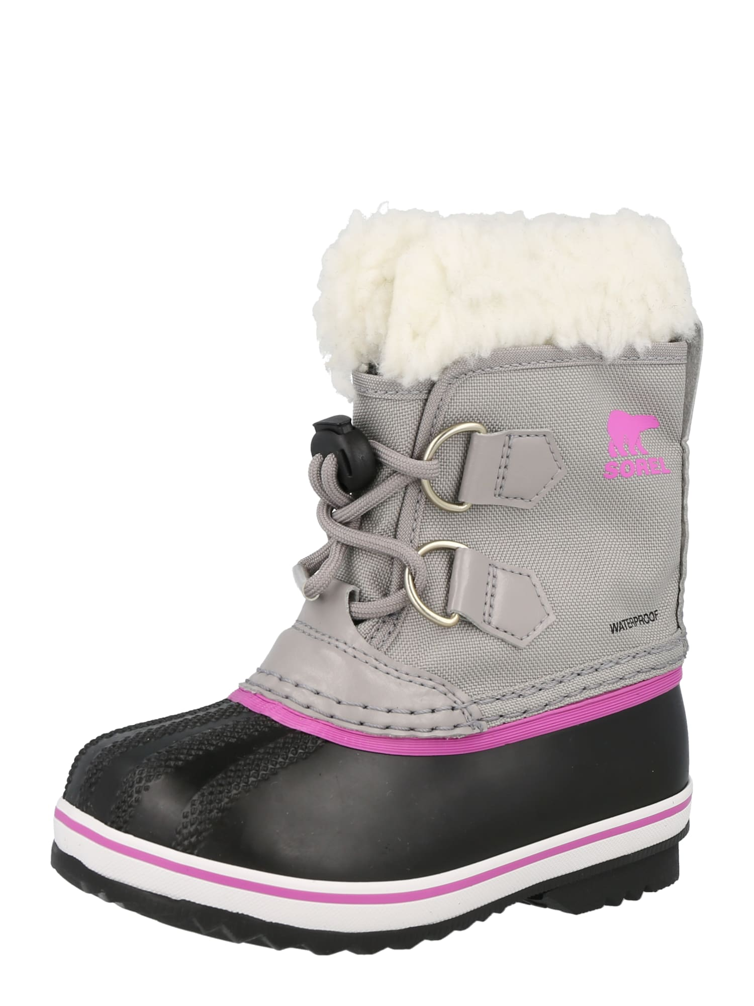 SOREL Sněhule 'YOOT PAC'  šedá / černá / fialová