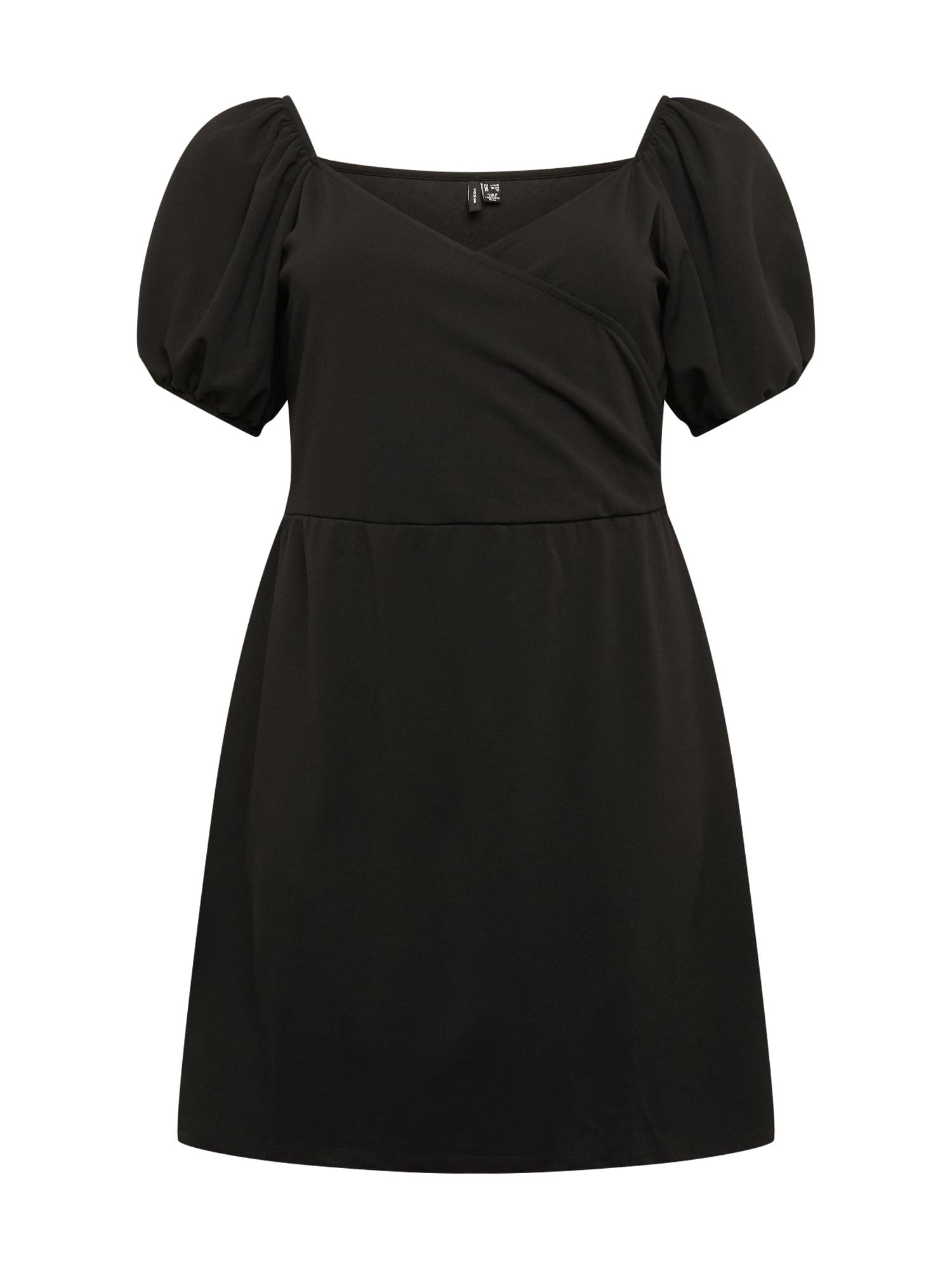 Vero Moda Curve Šaty 'Jasmine'  černá