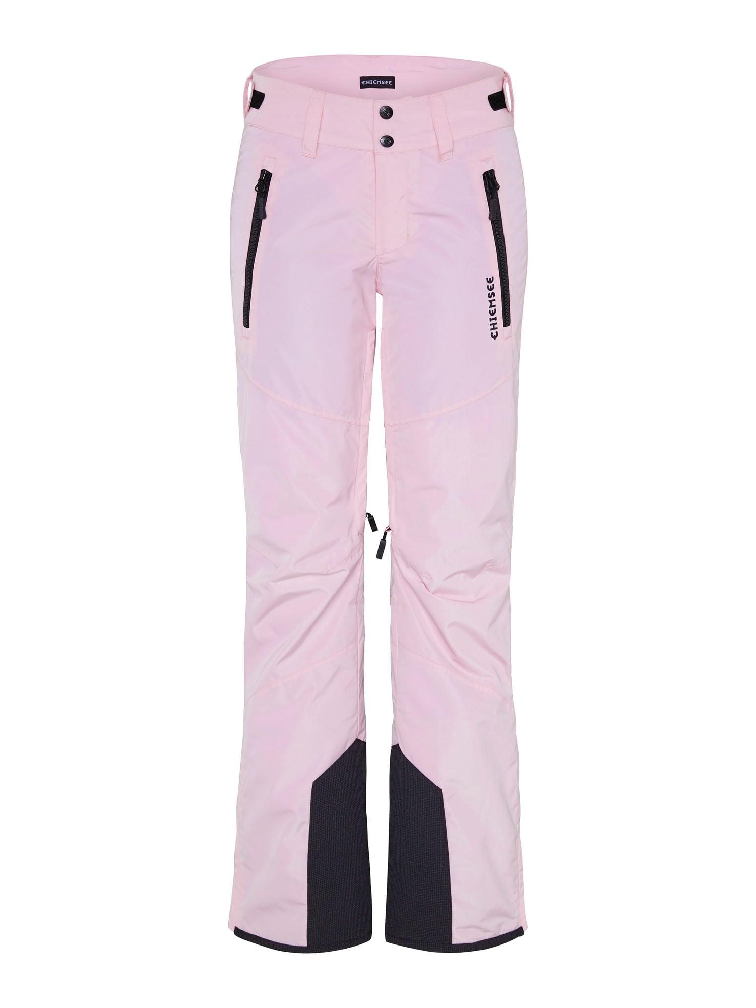 CHIEMSEE Outdoorové kalhoty 'Kizzy'  růžová / černá
