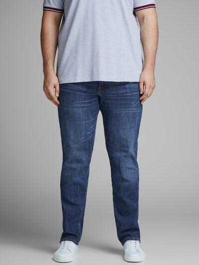 - Herren-Jeans in Slim fit, Plus Size - 5-Pocket-Stil - Hosenschlitz mit Knopfleiste - Schlanke Hosenbeinsilhouette - Das Model trägt Größe 3XL und ist 189 cm groß - JACK & JONES Unsere Jeans und Chinos haben vorn einen speziellen Bundhöhenschnitt, der für einen guten Sitz gerade unterhalb der Bauchgegend sorgt. In Kombination mit einem schlanken Oberschenkelschnitt und einer schmalen Beinform ergibt sich so eine markante Silhouette mit großartiger Passform.
